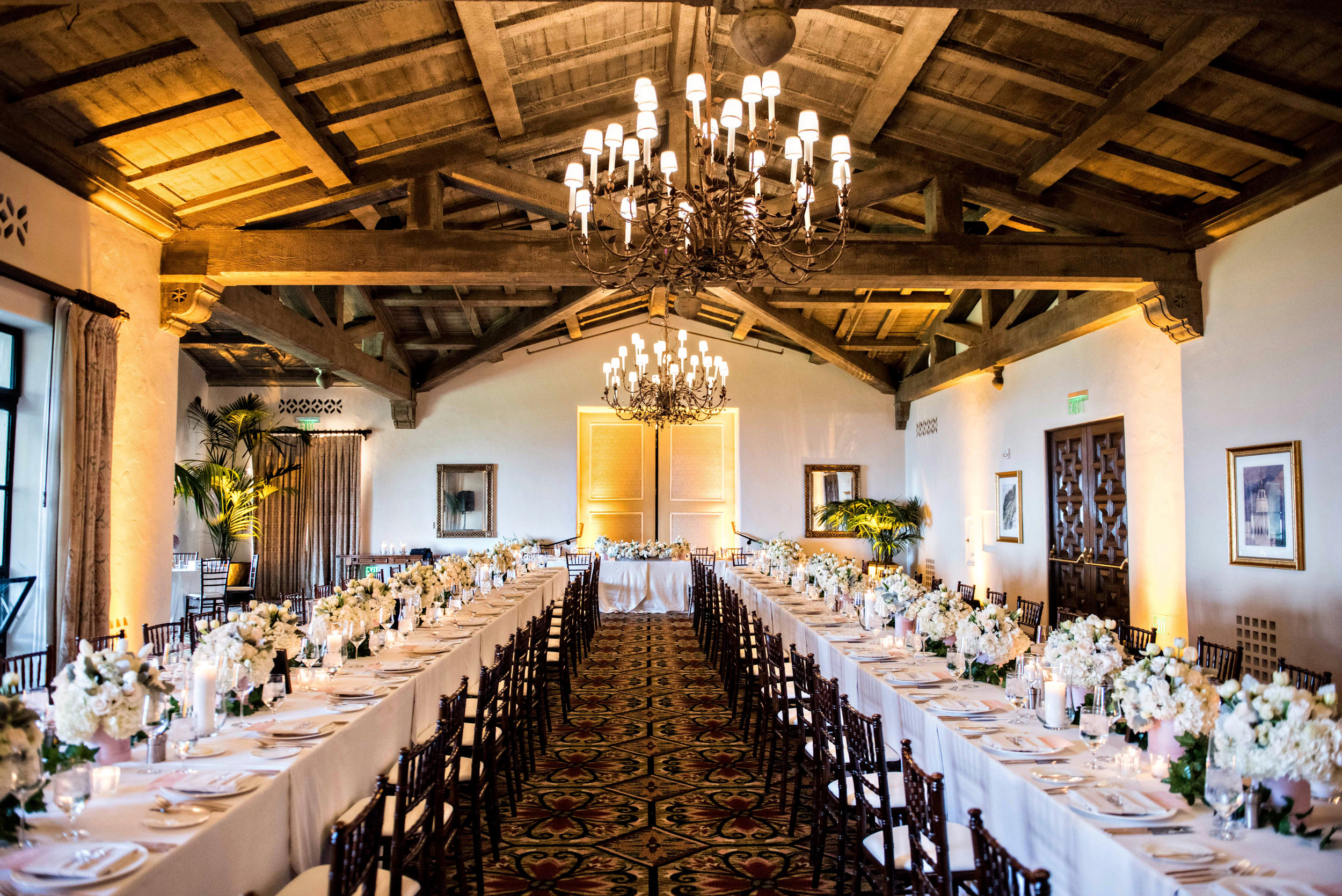 www.santabarbarawedding.com | Laurie Bailey Photography | KB Events | Santa Barbara Chairs