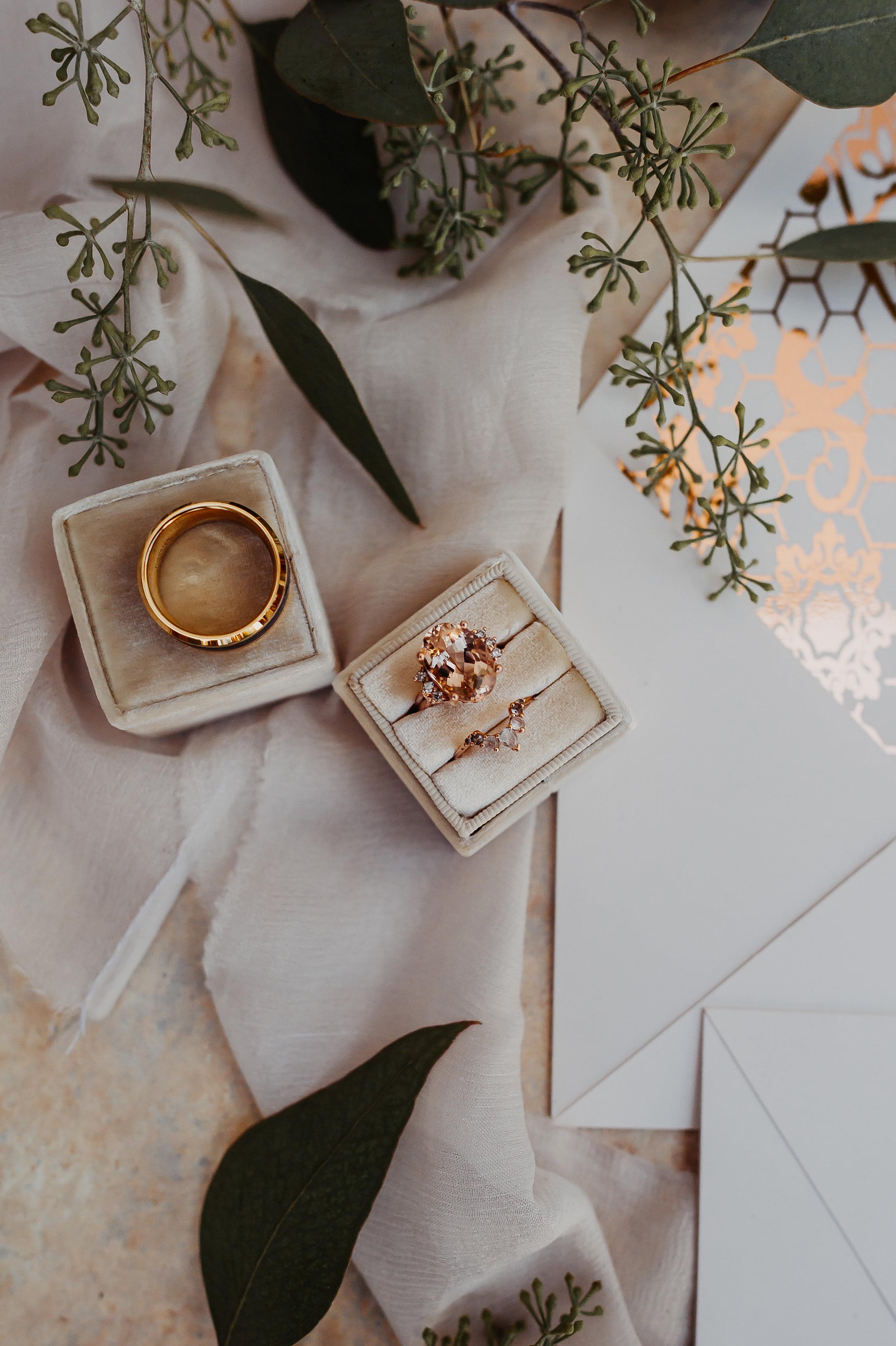 www.santabarbarawedding.com | Michelle Ramirez Photography | Olivas Adobe | Karen Marie Events | Tangled Lotus | The Mrs. Box | Gems by Joseph | Wedding Rings