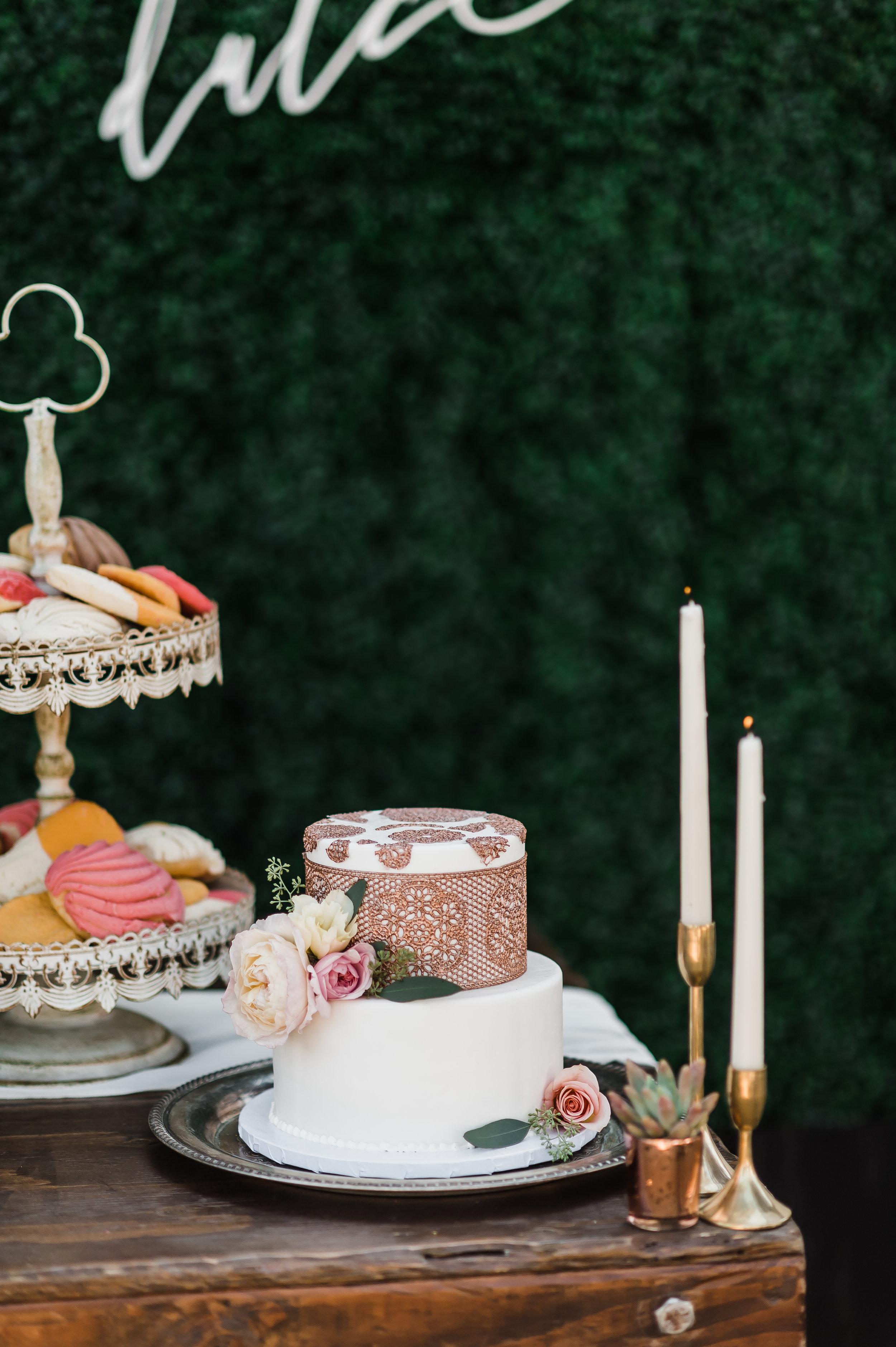 www.santabarbarawedding.com | Michelle Ramirez Photography | Olivas Adobe | Karen Marie Events | Tangled Lotus | Sweet D's Cakes | Wedding Cake