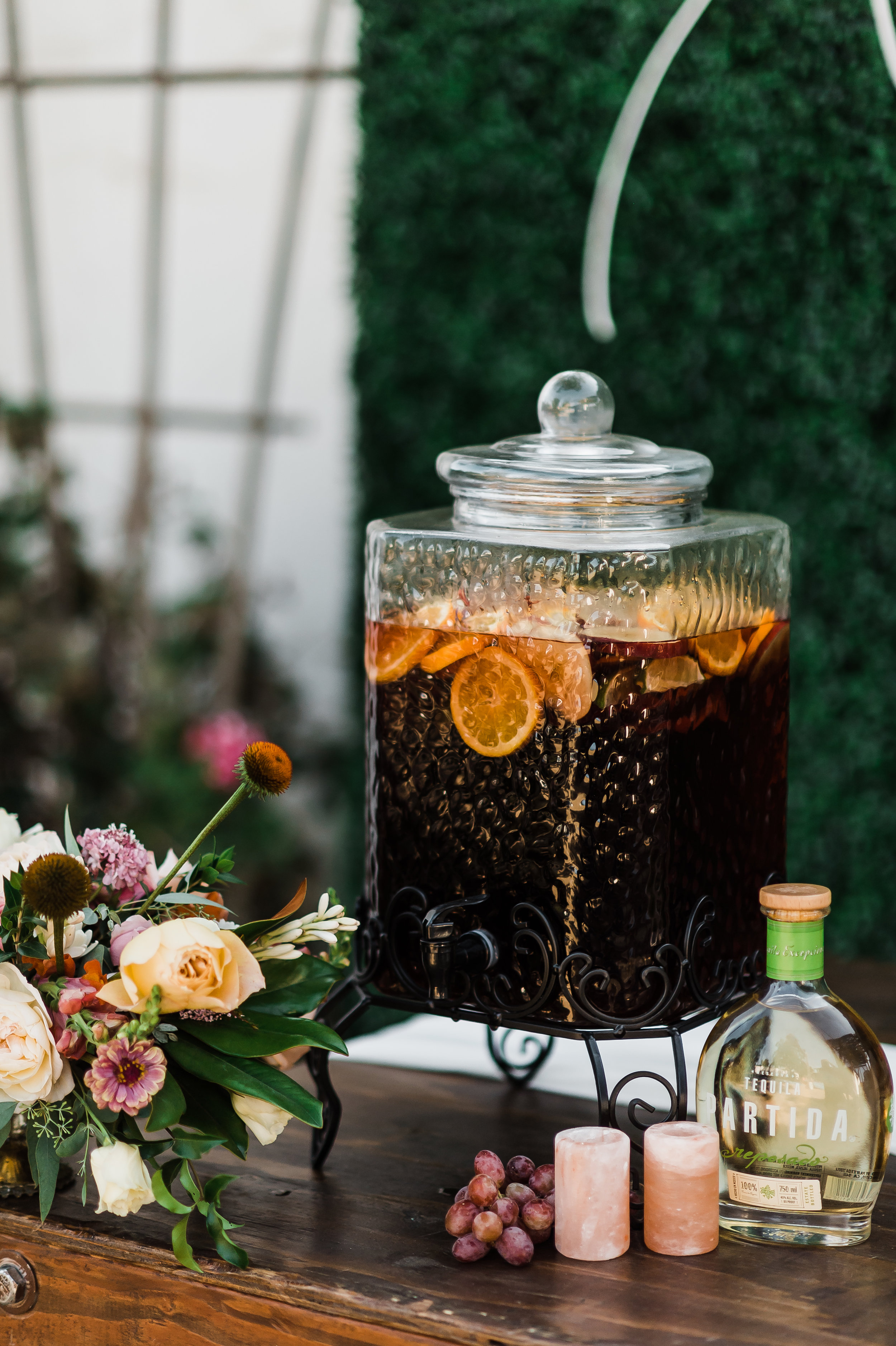 www.santabarbarawedding.com | Michelle Ramirez Photography | Olivas Adobe | Karen Marie Events | Tangled Lotus | Amigo Party Rentals | Refreshments for the Guests