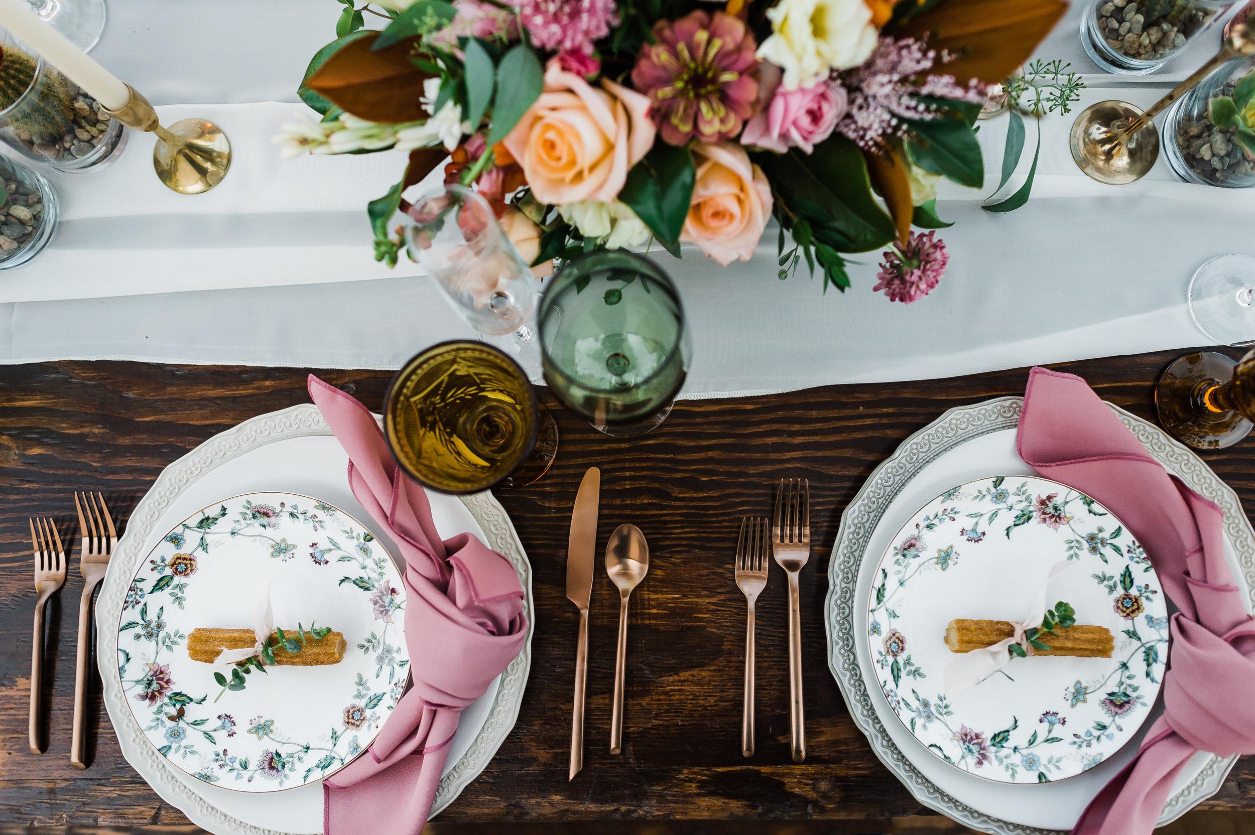 www.santabarbarawedding.com | Michelle Ramirez Photography | Olivas Adobe | Karen Marie Events | Tangled Lotus | Amigo Party Rentals | Dreams America Linens | Erickson Surfaces | Table Place Settings