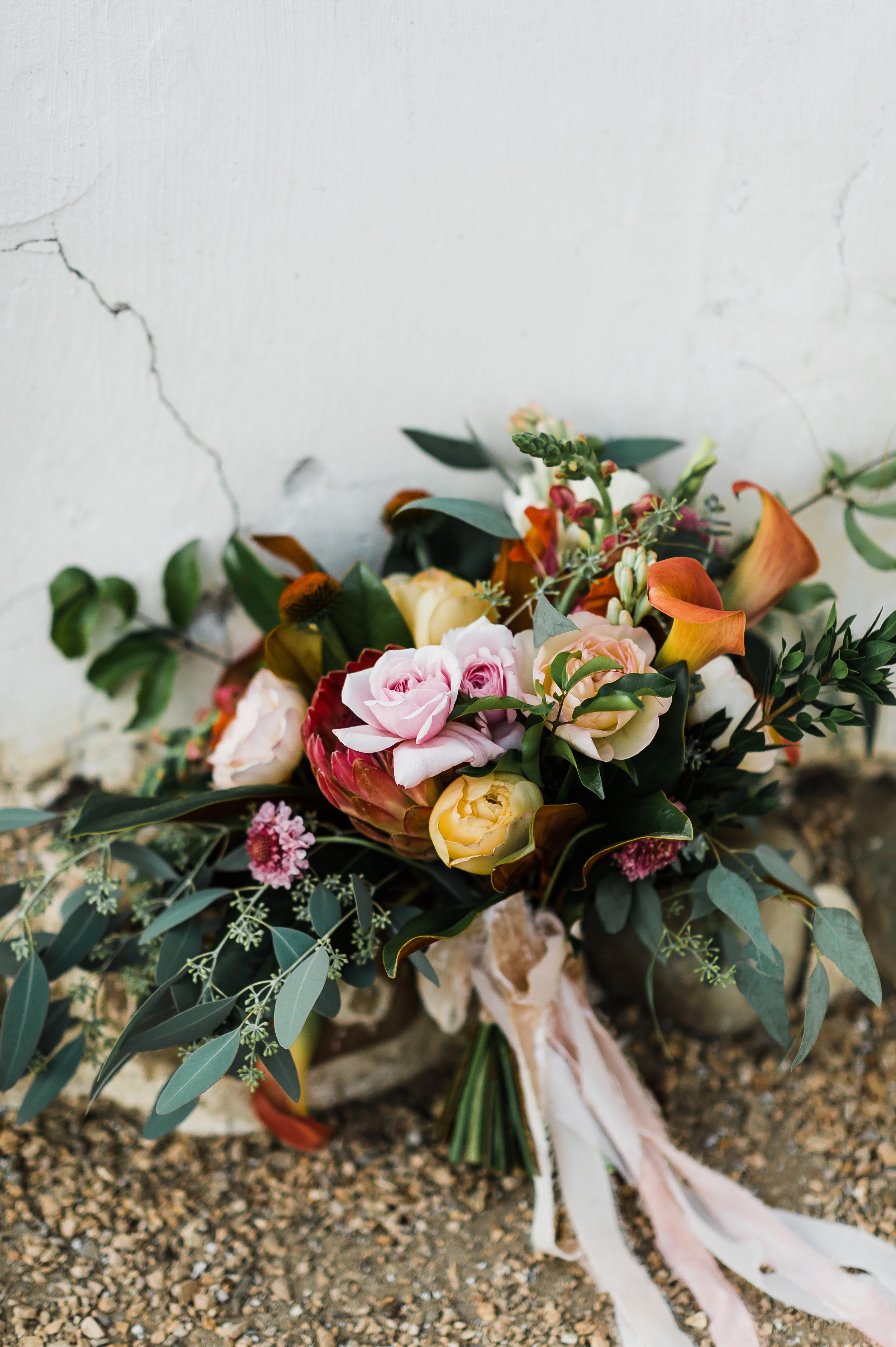 www.santabarbarawedding.com | Michelle Ramirez Photography | Olivas Adobe | Karen Marie Events | Tangled Lotus | Honey Silks & Co | Bride's Bouquet