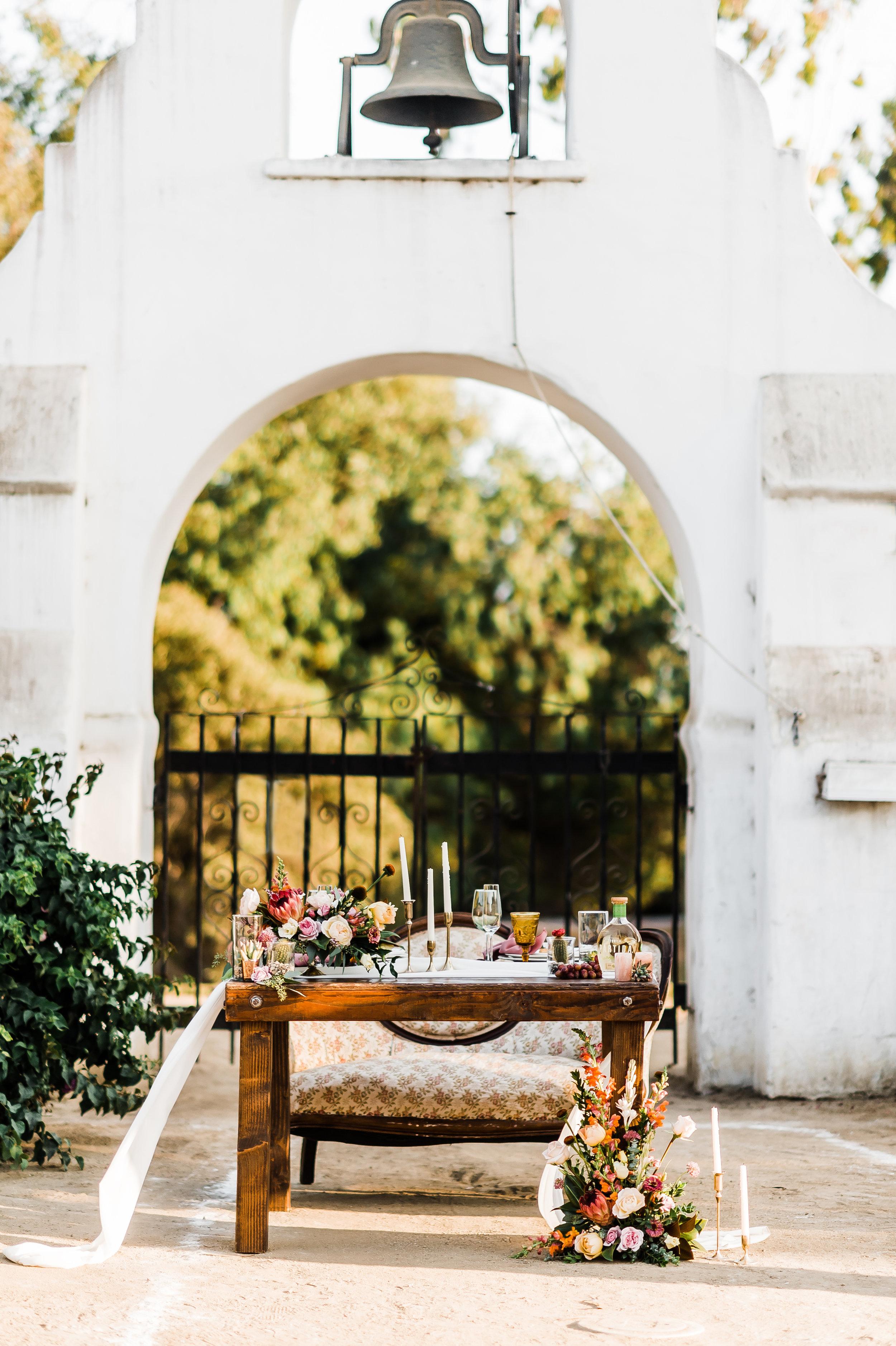 www.santabarbarawedding.com | Michelle Ramirez Photography | Olivas Adobe | Karen Marie Events | Tangled Lotus | Amigo Party Rentals | Dreams America Linens | Erickson Surfaces | Couple's Table