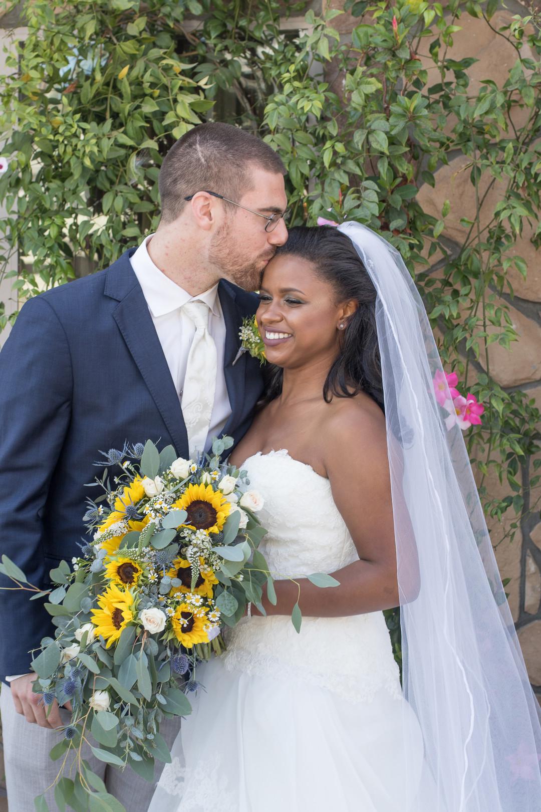 www.santabarbarawedding.com | Renoda Campbell | Weddings by Bobbie | Ventana Grill Events | Bride and Groom