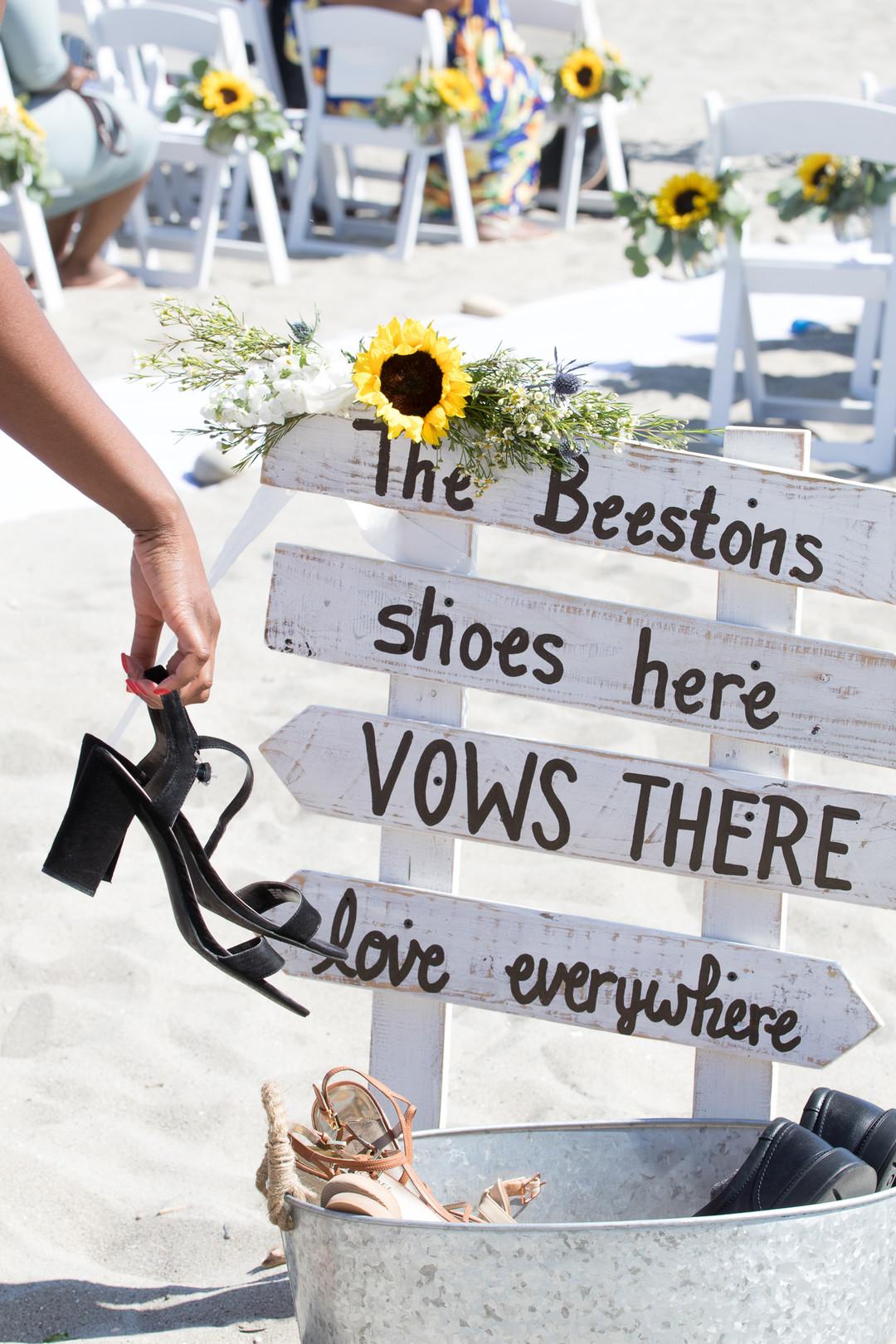 www.santabarbarawedding.com | Renoda Campbell | Weddings by Bobbie | Ventana Grill Events | Ceremony Signage