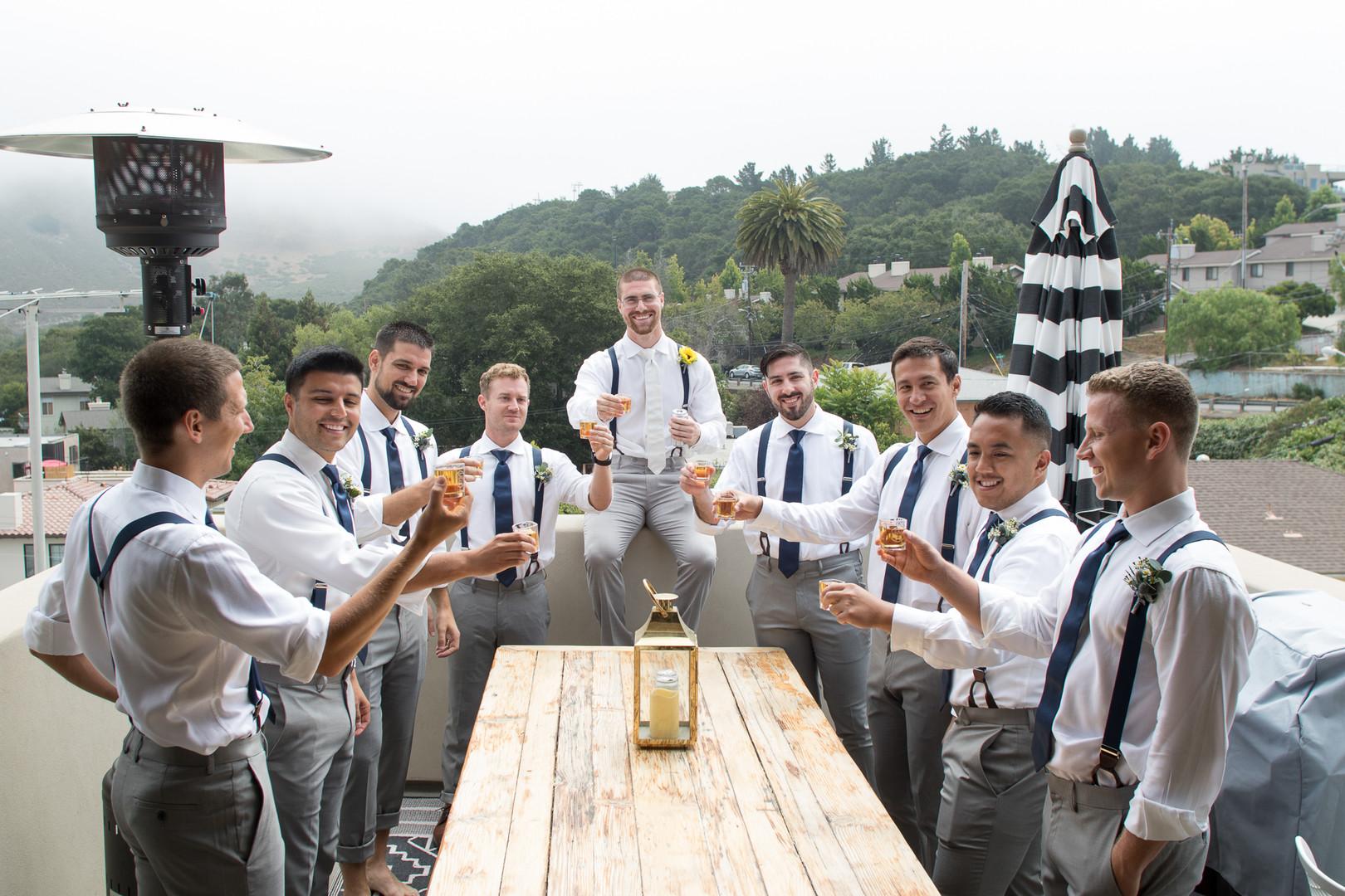 www.santabarbarawedding.com | Renoda Campbell | Weddings by Bobbie | Ventana Grill Events | Groomsmen