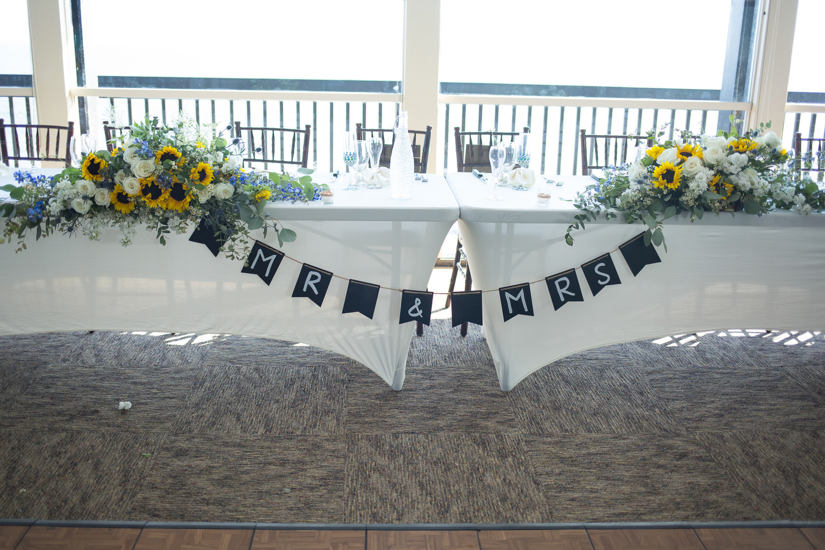 www.santabarbarawedding.com | Renoda Campbell | Weddings by Bobbie | Ventana Grill Events | Head Table