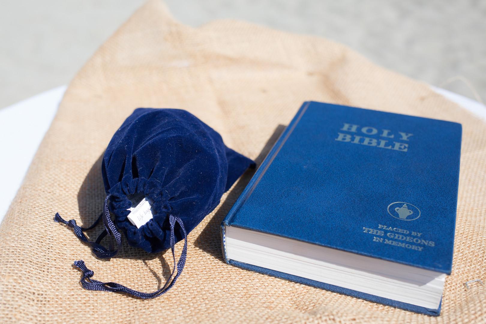 www.santabarbarawedding.com | Renoda Campbell | Weddings by Bobbie | Ventana Grill Events | Bible | Ceremony
