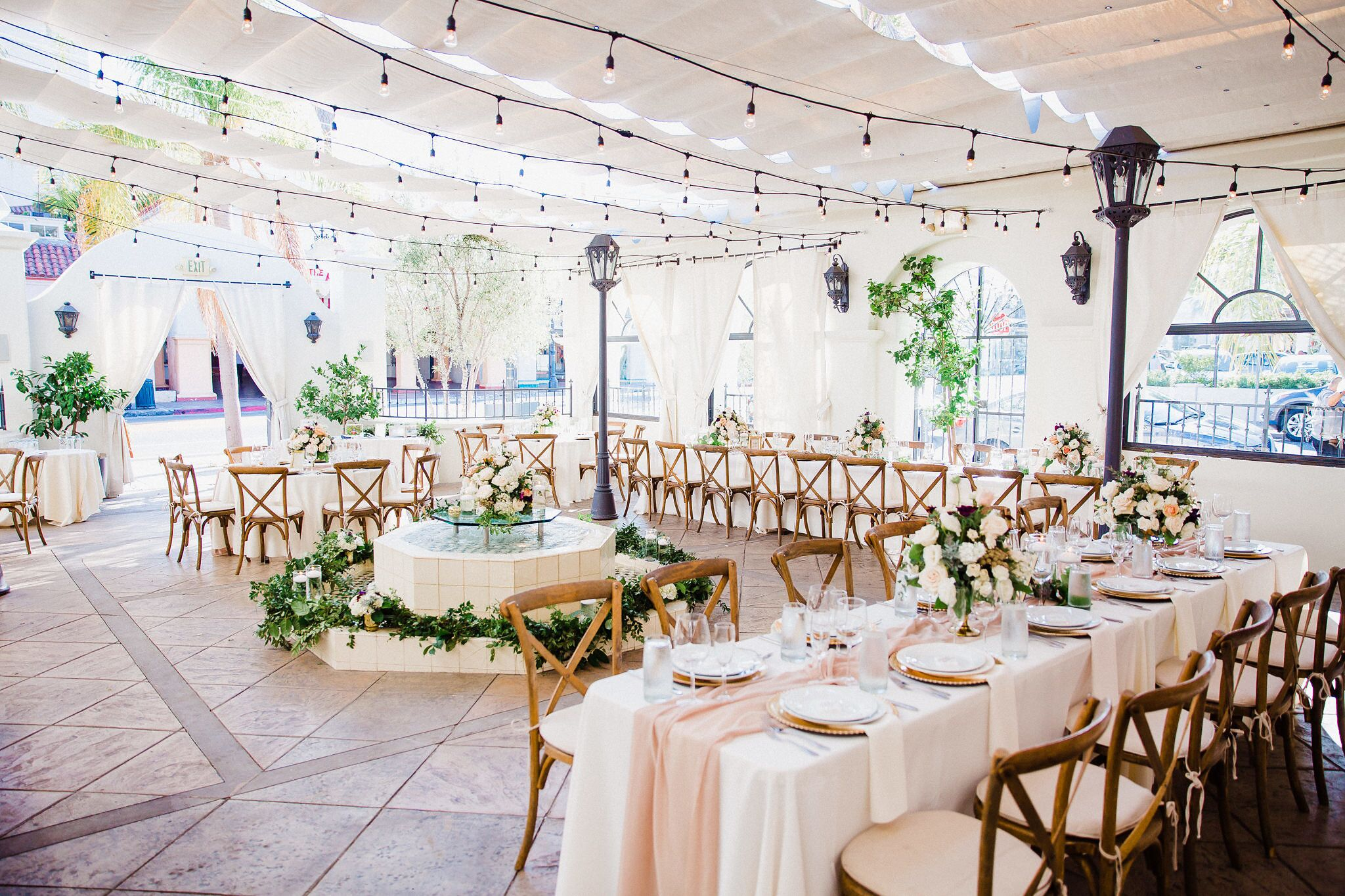 www.santabarbaraweddings.com | Photographer: Grace Kathryn | Venues: Villa & Vine, Santa Barbara Courthouse, Hilton Santa Barbara Resort | Coordination: Burlap & Bordeaux | Reception Site