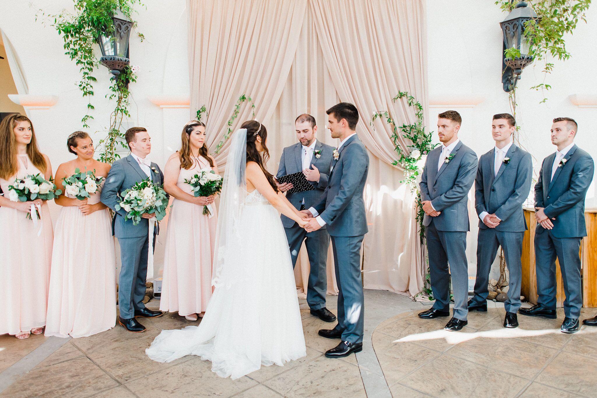 www.santabarbaraweddings.com | Photographer: Grace Kathryn | Venues: Villa & Vine, Santa Barbara Courthouse, Hilton Santa Barbara Resort | Coordination: Burlap & Bordeaux | Wedding Vows