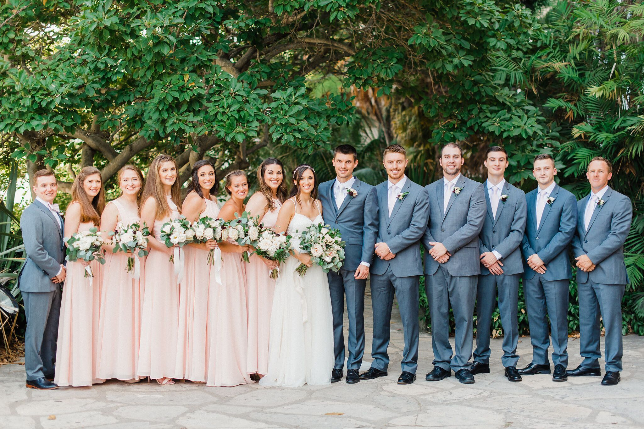 www.santabarbaraweddings.com | Photographer: Grace Kathryn | Venues: Villa & Vine, Santa Barbara Courthouse, Hilton Santa Barbara Resort | Coordination: Burlap & Bordeaux | Wedding Party