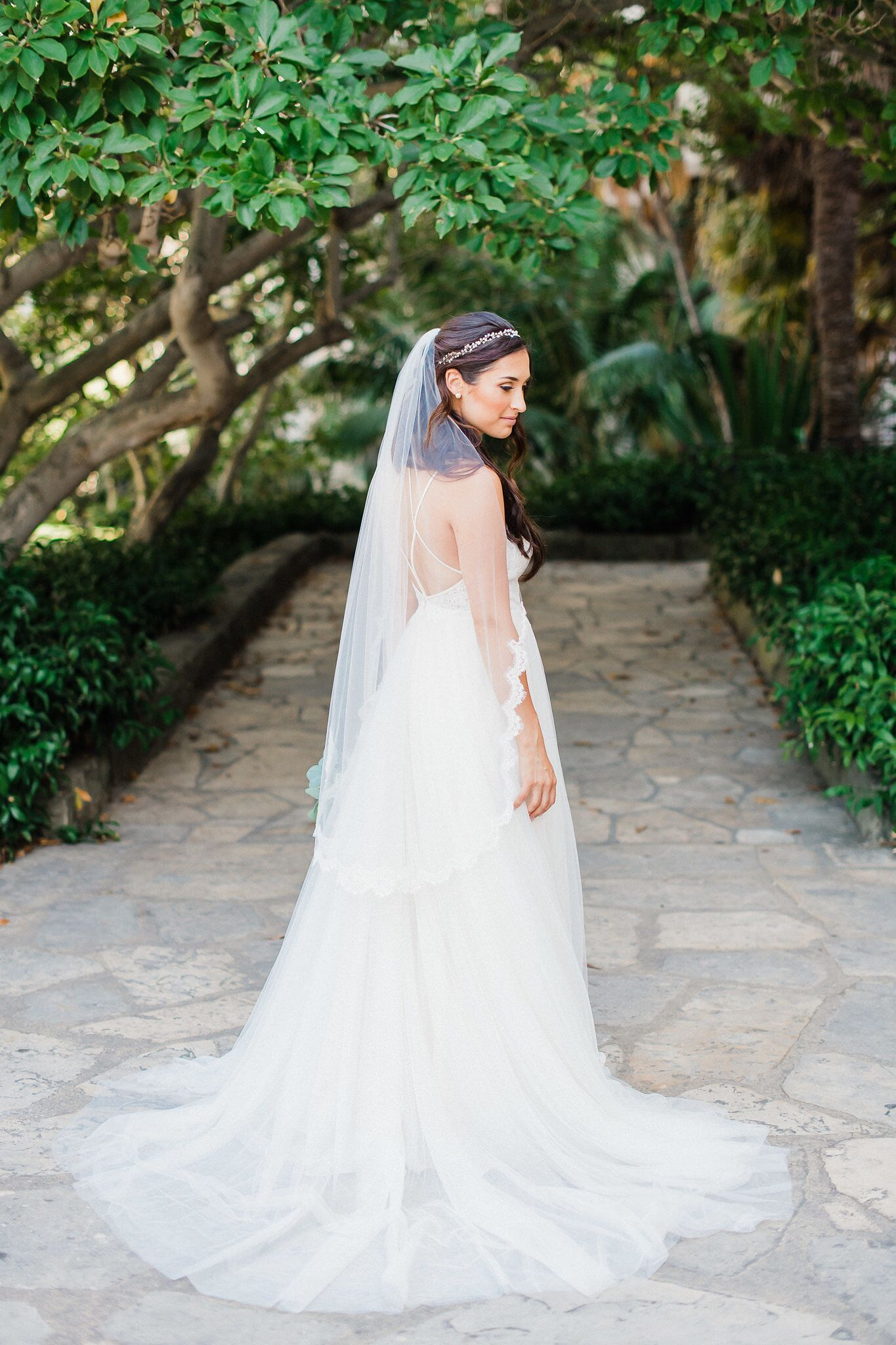 www.santabarbaraweddings.com | Photographer: Grace Kathryn | Venues: Villa & Vine, Santa Barbara Courthouse, Hilton Santa Barbara Resort | Coordination: Burlap & Bordeaux | Bridal Portrait