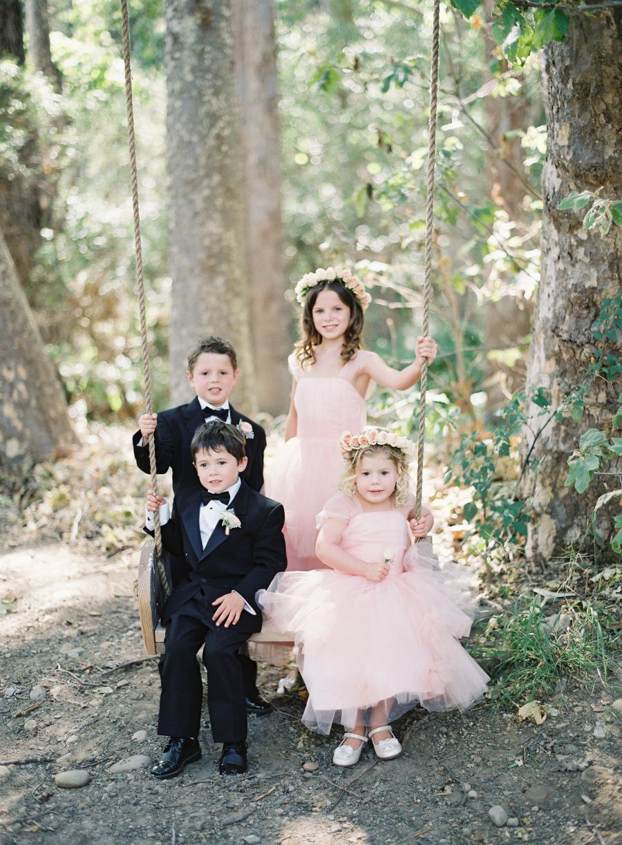 www.santabarbarawedding.com | Patrick Moyer Photography | Dos Pueblos Ranch | Soigné Productions | Flower Girls and Ring Bearers