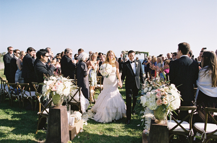 www.santabarbarawedding.com | Patrick Moyer Photography | Dos Pueblos Ranch | Soigné Productions | The Tent Merchant | These Buds a Blooming | Ceremony Overlooking the Beach