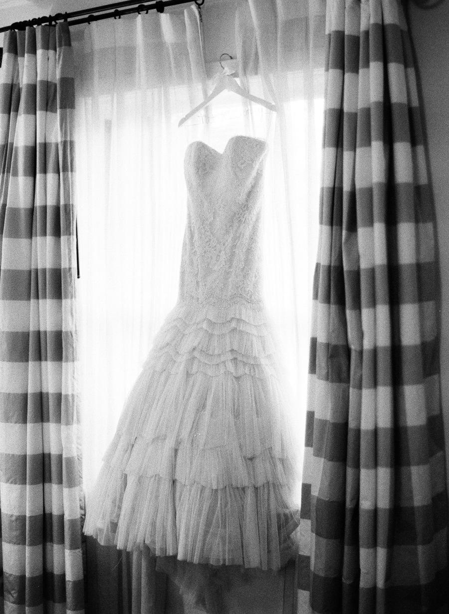 www.santabarbarawedding.com | Patrick Moyer Photography | Dos Pueblos Ranch | Soigné Productions | Jim Hjelm | Bride's Wedding Gown