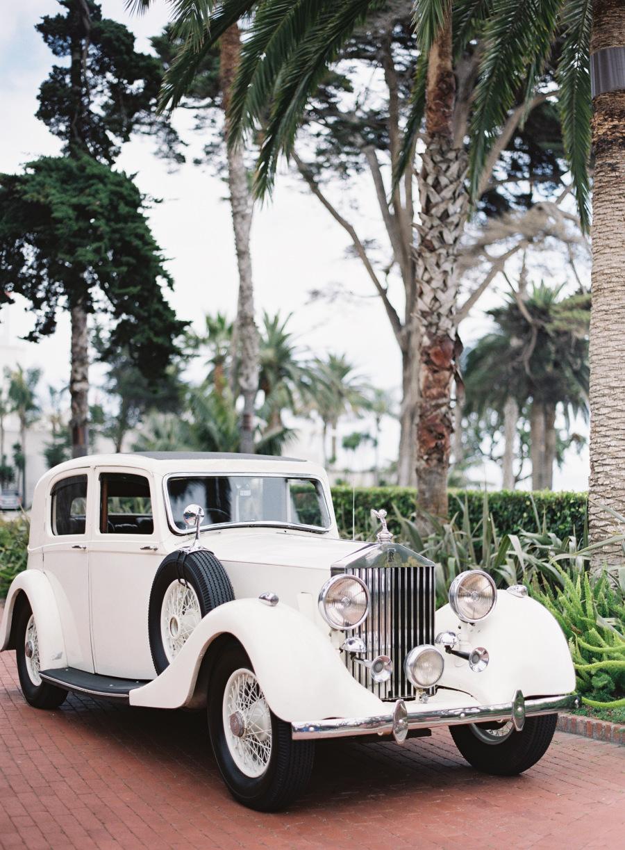 www.santabarbarawedding.com | Patrick Moyer Photography | Dos Pueblos Ranch | Soigné Productions | Tours A La Carte | Bride and Groom's Rolls Royce Ride