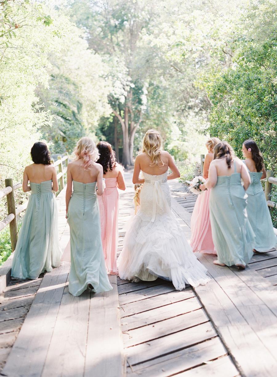 www.santabarbarawedding.com | Patrick Moyer Photography | Dos Pueblos Ranch | Soigné Productions | Renz | Jim Hjelm | Bride and Bridesmaids