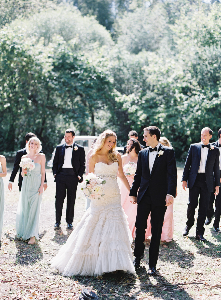 www.santabarbarawedding.com | Patrick Moyer Photography | Dos Pueblos Ranch | Soigné Productions | These Buds a Blooming | Couple and the Bridal Party