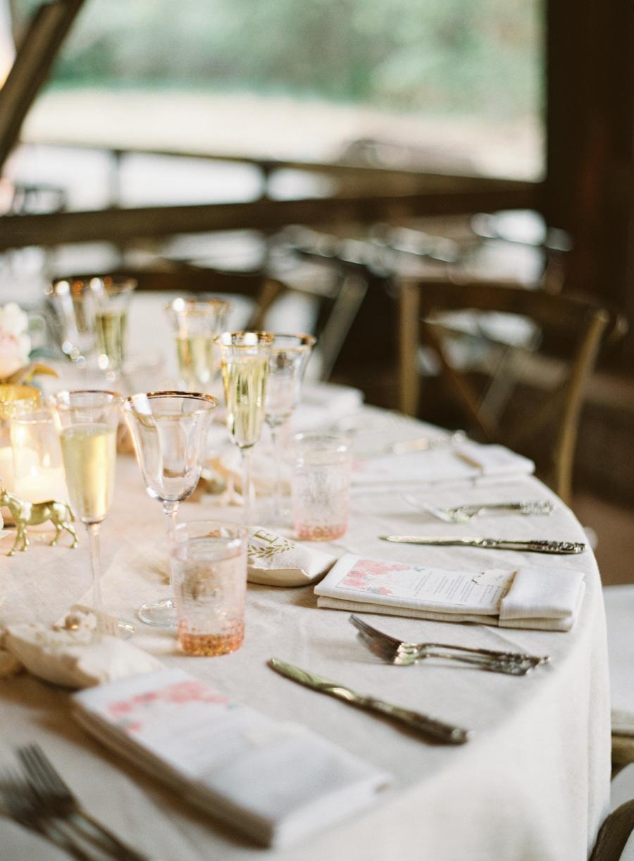 www.santabarbarawedding.com | Patrick Moyer Photography | Dos Pueblos Ranch | Soigné Productions | The Tent Merchant | Reception Table Set-Up