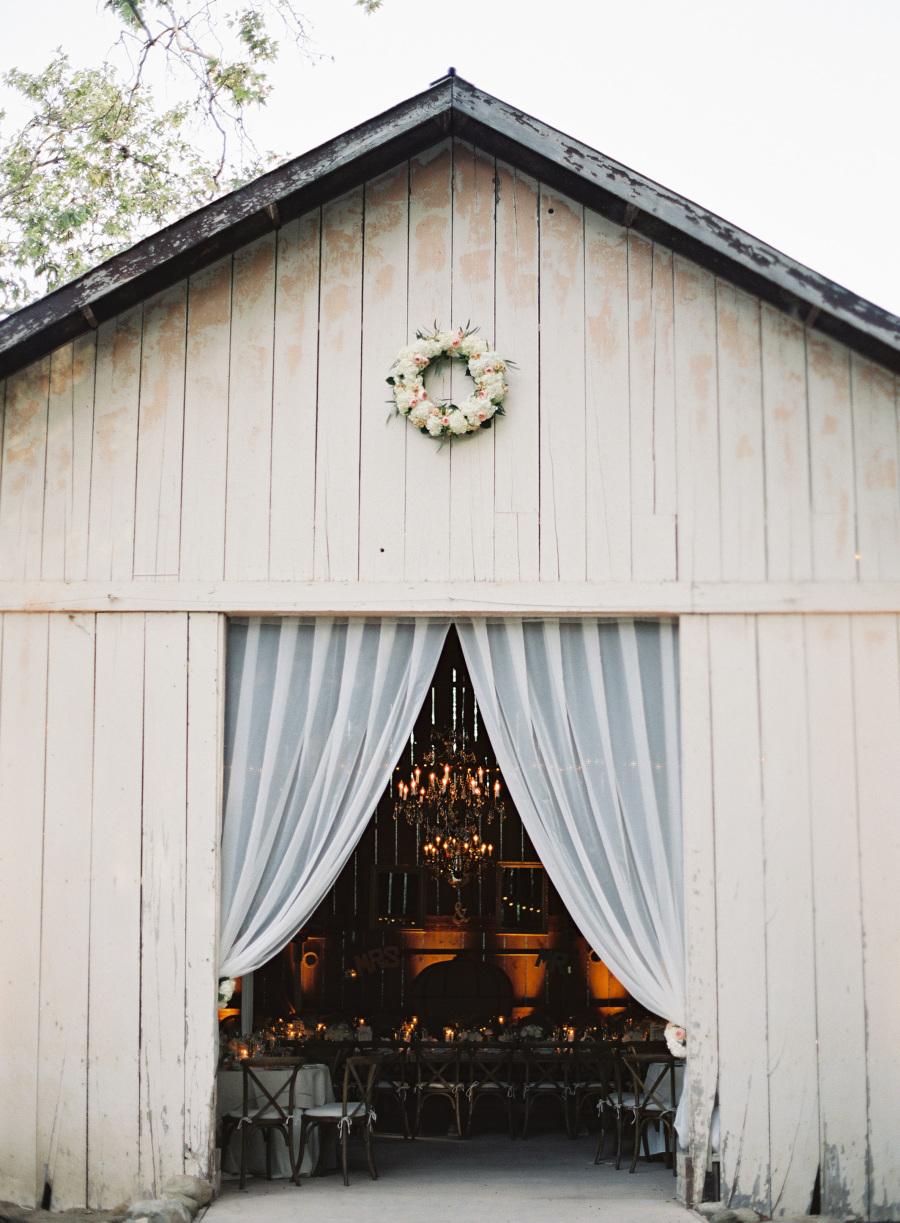 www.santabarbarawedding.com | Patrick Moyer Photography | Dos Pueblos Ranch | Soigné Productions | The Tent Merchant | Reception Building