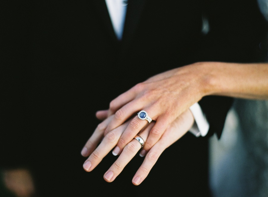 www.santabarbarawedding.com | Patrick Moyer Photography | Dos Pueblos Ranch | Soigné Productions | The Couple's Rings