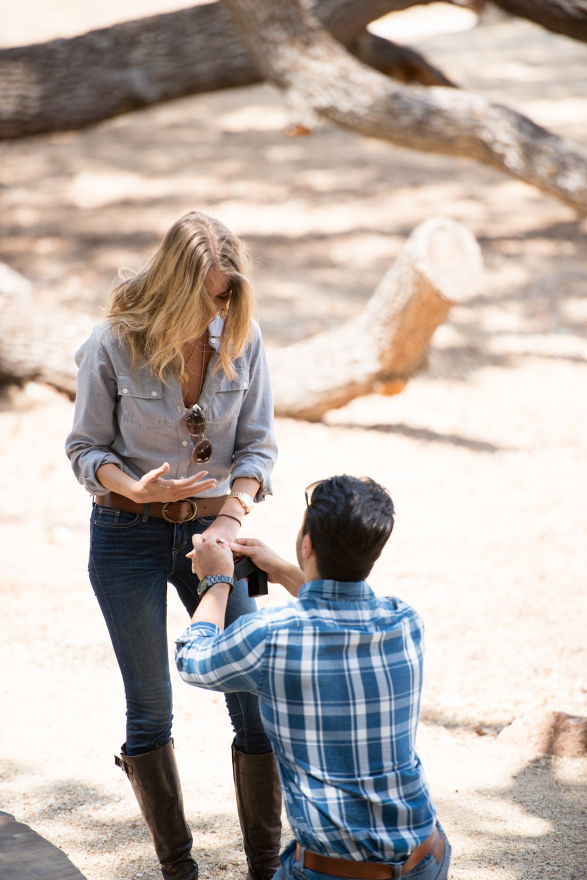 www.santabarbarawedding.com | Michael + Anna Costa Photography | Refugio Ranch | Alegria by Design | Like a Letter Videography | Anna Le Pley Taylor | The Proposal