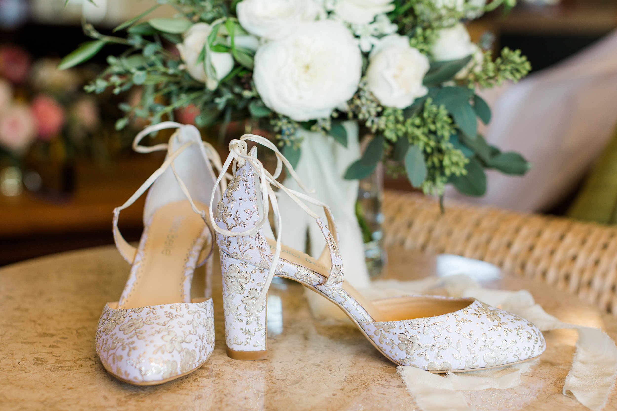 www.santabarbarawedding.com | Whitney Turner Photography | Parsons Ranch | Events by Rincon | Margaret Joan Florals | Bride's Shoes