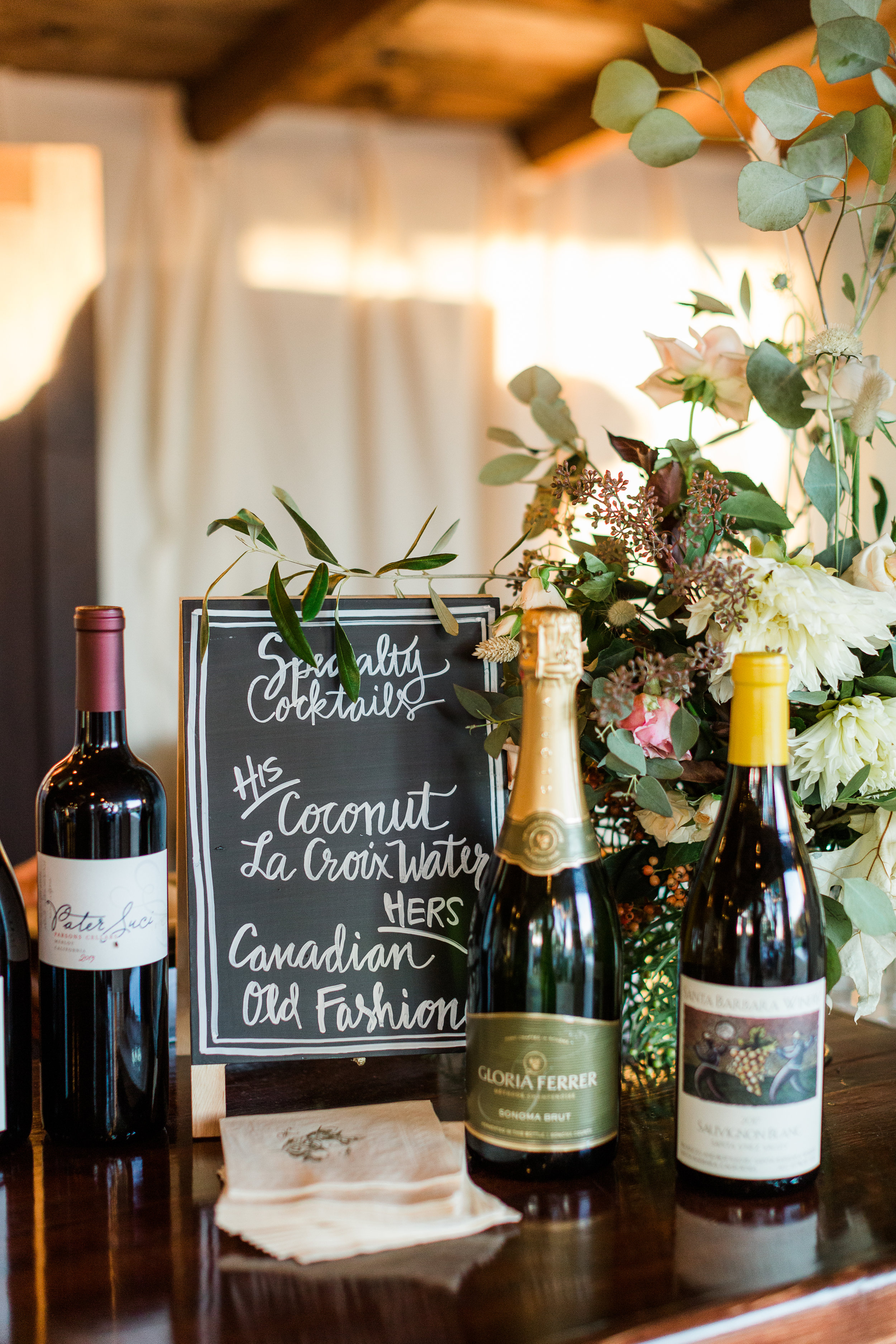 www.santabarbarawedding.com | Whitney Turner Photography | Parsons Ranch | Events by Rincon | Margaret Joan Florals | Wine for the Reception