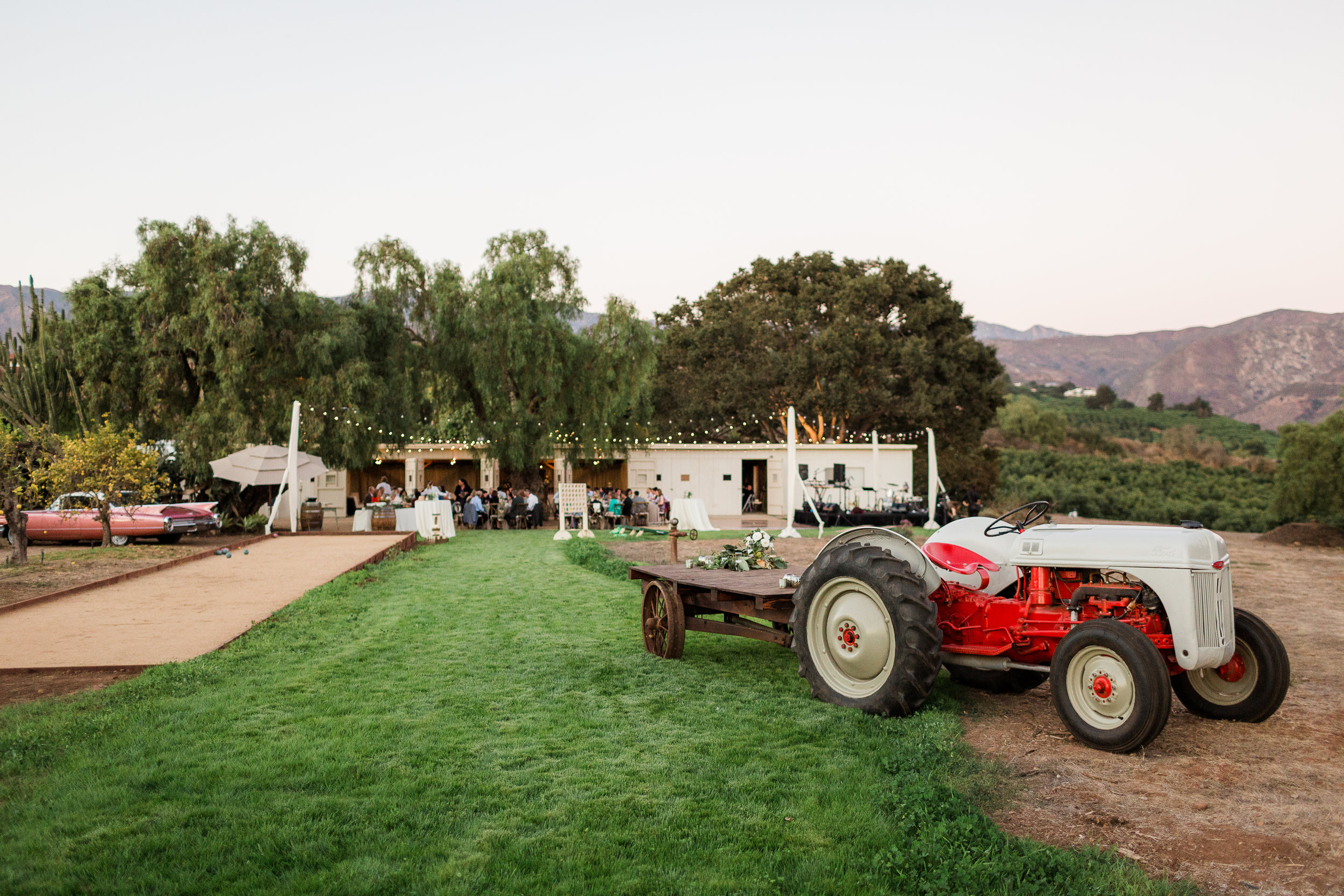www.santabarbarawedding.com | Whitney Turner Photography | Parsons Ranch | Events by Rincon | Margaret Joan Florals | Tractor at the Venue