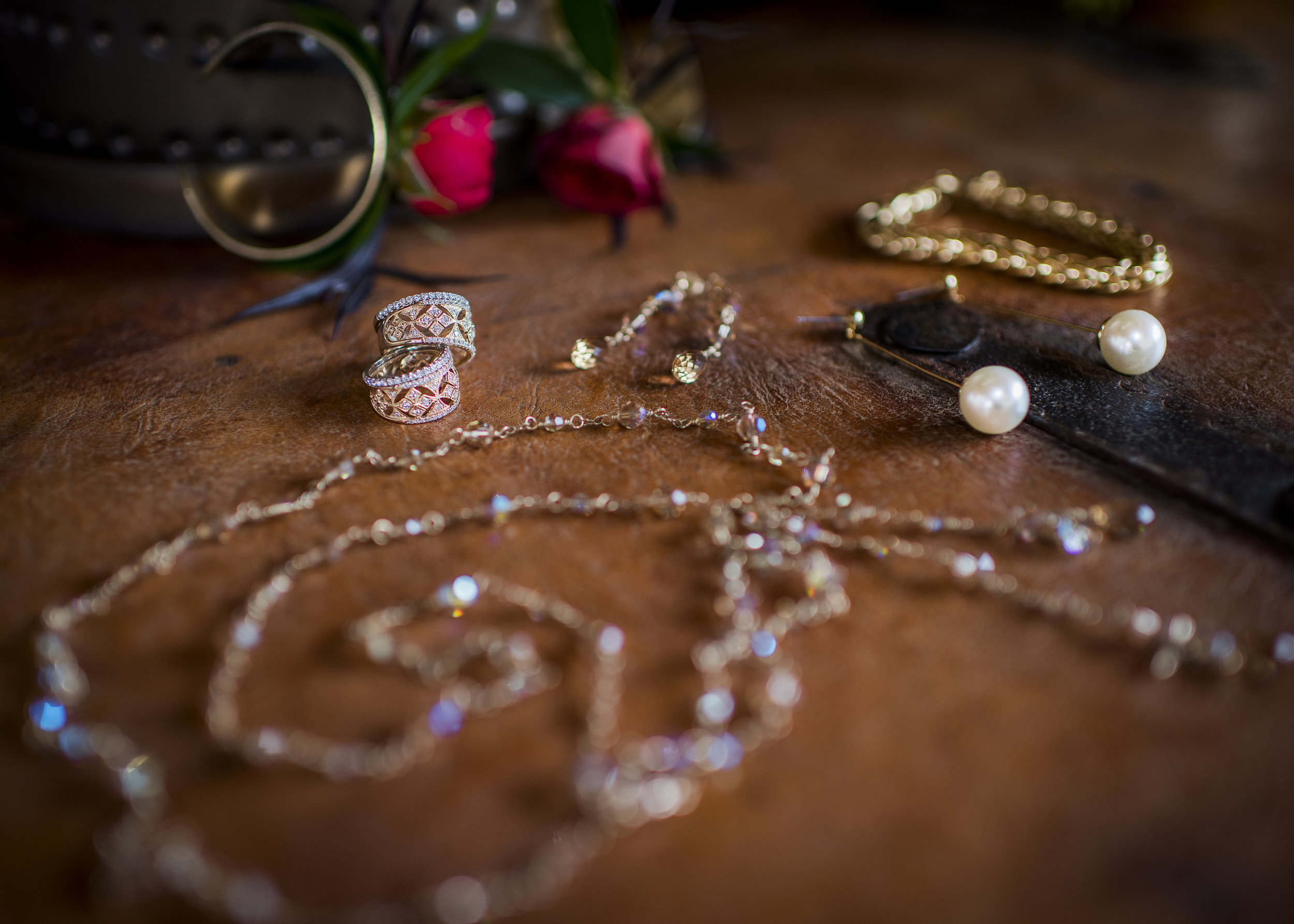 www.santabarbarawedding.com | Willa Kveta Photography | Private Estate | Savoir Faire | Couple's Wedding Day Jewelry