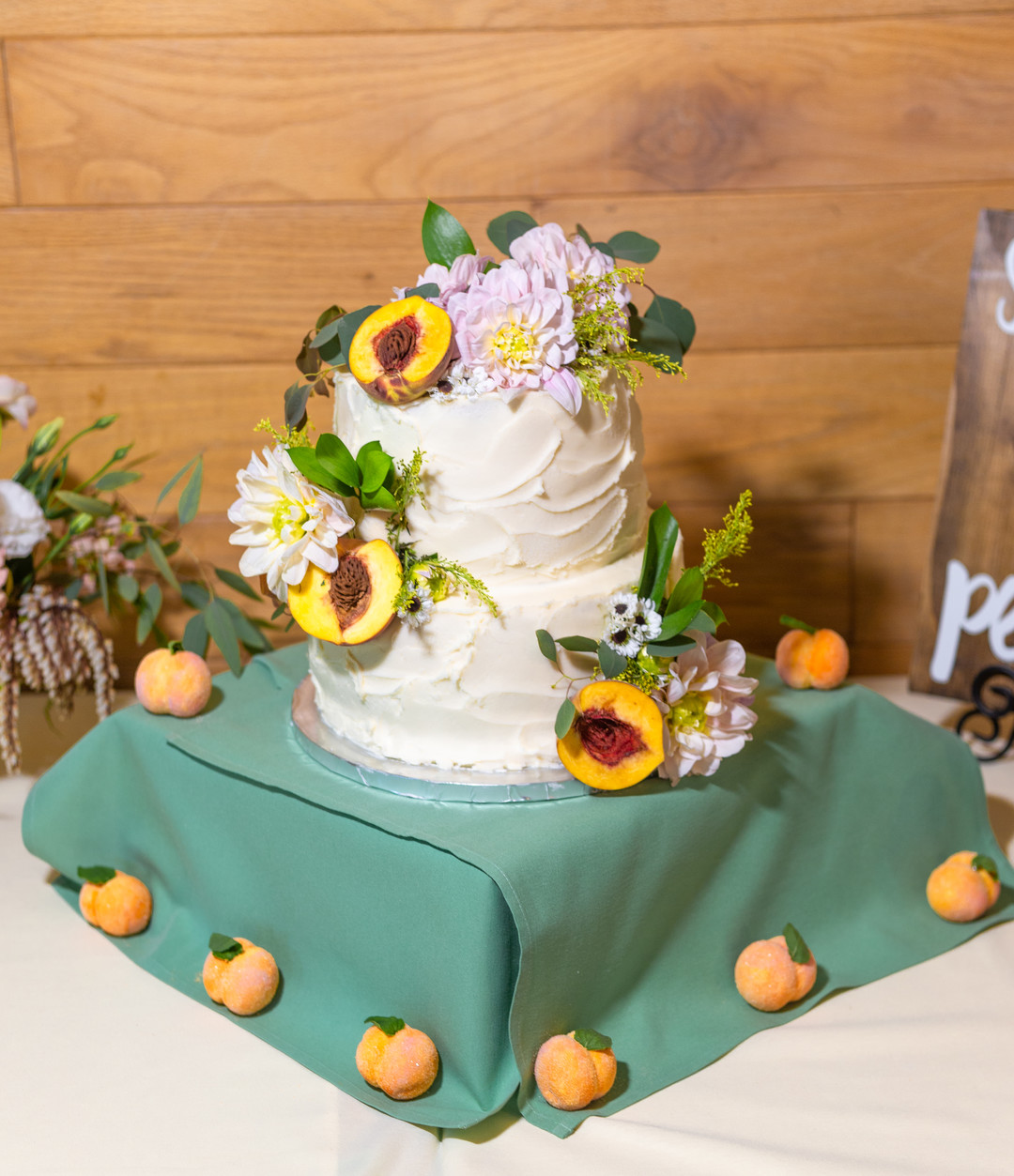 www.santabarbarawedding.com | SLO Town Studios | Black Lake Golf Course | Flowers by Denise | Bri's Sweet Retreat | wedding cake