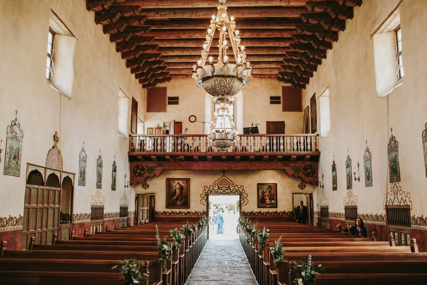 www.santabarbarawedding.com | WildWhim Design + Photography | Our Lady of Mount Carmel | Ann Johnson Events | Bloom Floral and Foliage | Ceremony Venue