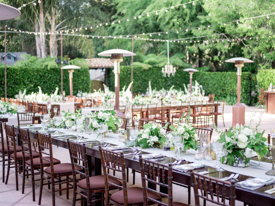 www.santabarbarawedding.com | Michael + Anna Costa Photography | Butterfly Lane Estate | Soigne Productions | Bella Vista Designs | West Coast Music | Tricia Fountaine Designs | Reception Tables
