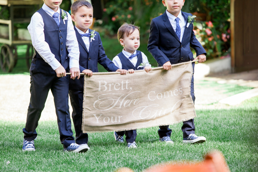 www.santabarbarawedding.com | Michael + Anna Costa Photography | Butterfly Lane Estate | Soigne Productions | Tricia Fountaine Designs | The Get Down Boys | Start of Ceremony