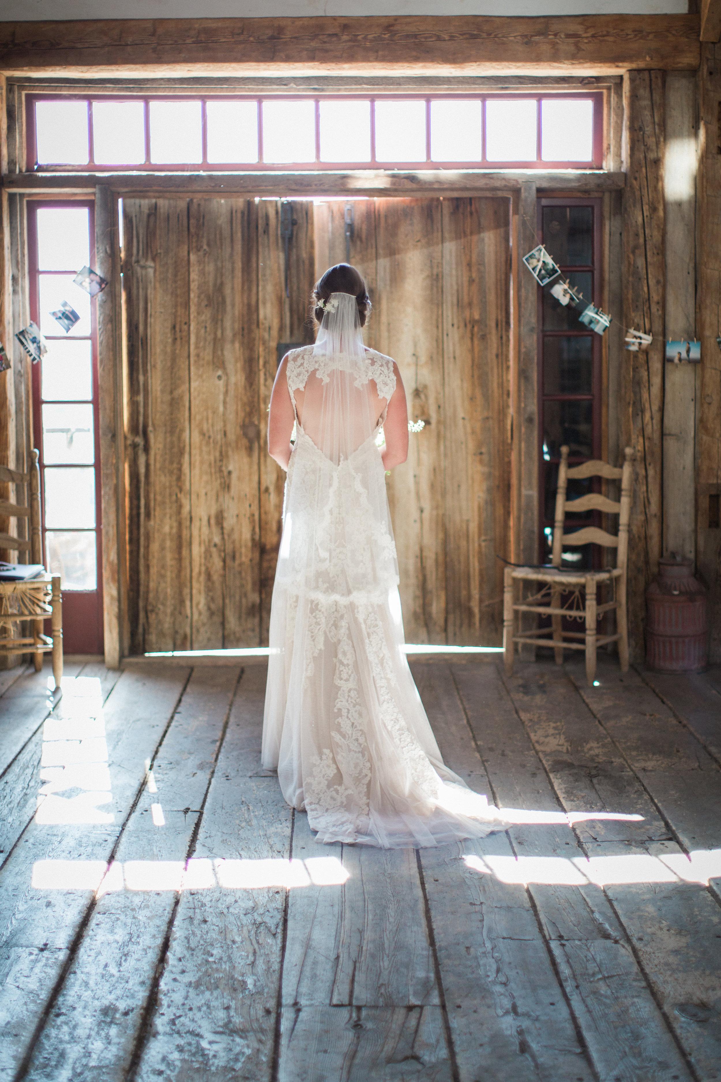 www.santabarbarawedding.com | Kiel Rucker Photography | Joelle Charming Wedding Planner | Figueroa Mountain Farmhouse | Ella & Louie Flowers | Wedding Dress