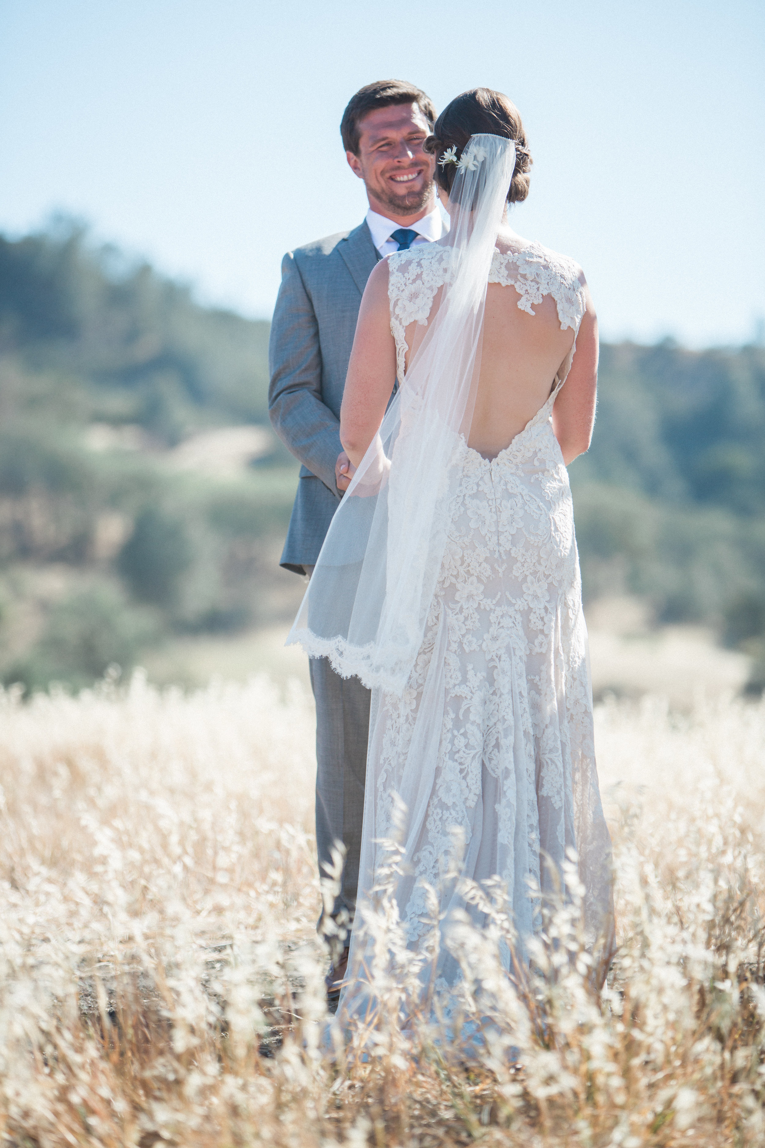 www.santabarbarawedding.com | Kiel Rucker Photography | Joelle Charming Wedding Planner | Figueroa Mountain Farmhouse | Al Fresco Ceremony