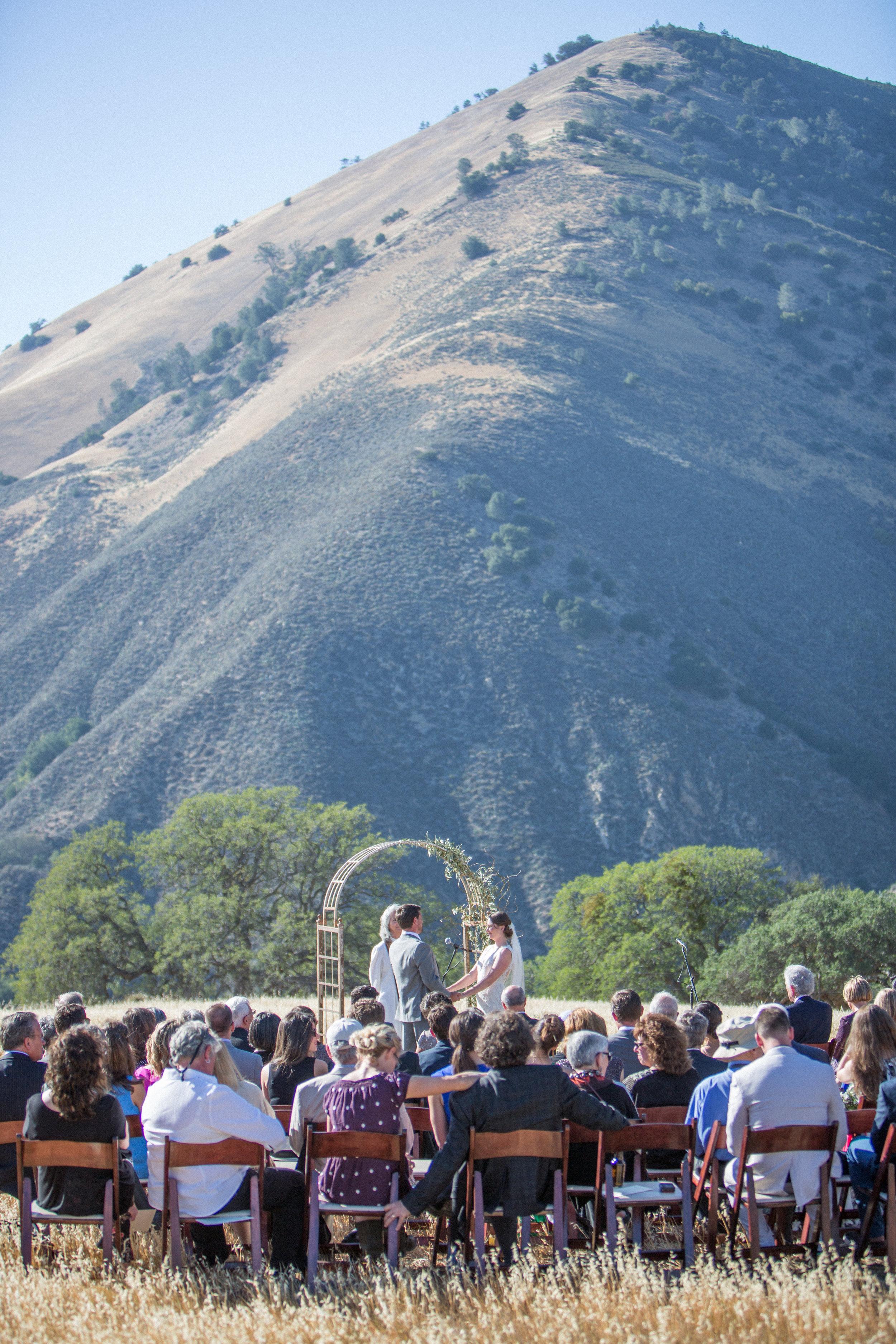 www.santabarbarawedding.com | Kiel Rucker Photography | Joelle Charming Wedding Planner | Figueroa Mountain Farmhouse | Ceremony