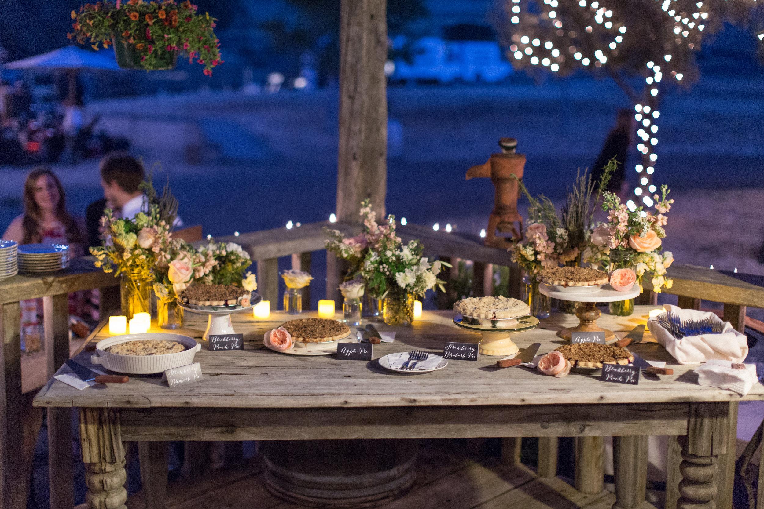 www.santabarbarawedding.com | Kiel Rucker Photography | Joelle Charming Wedding Planner | Figueroa Mountain Farmhouse | Ella & Louie Flowers | La Tavola Linens | Reception
