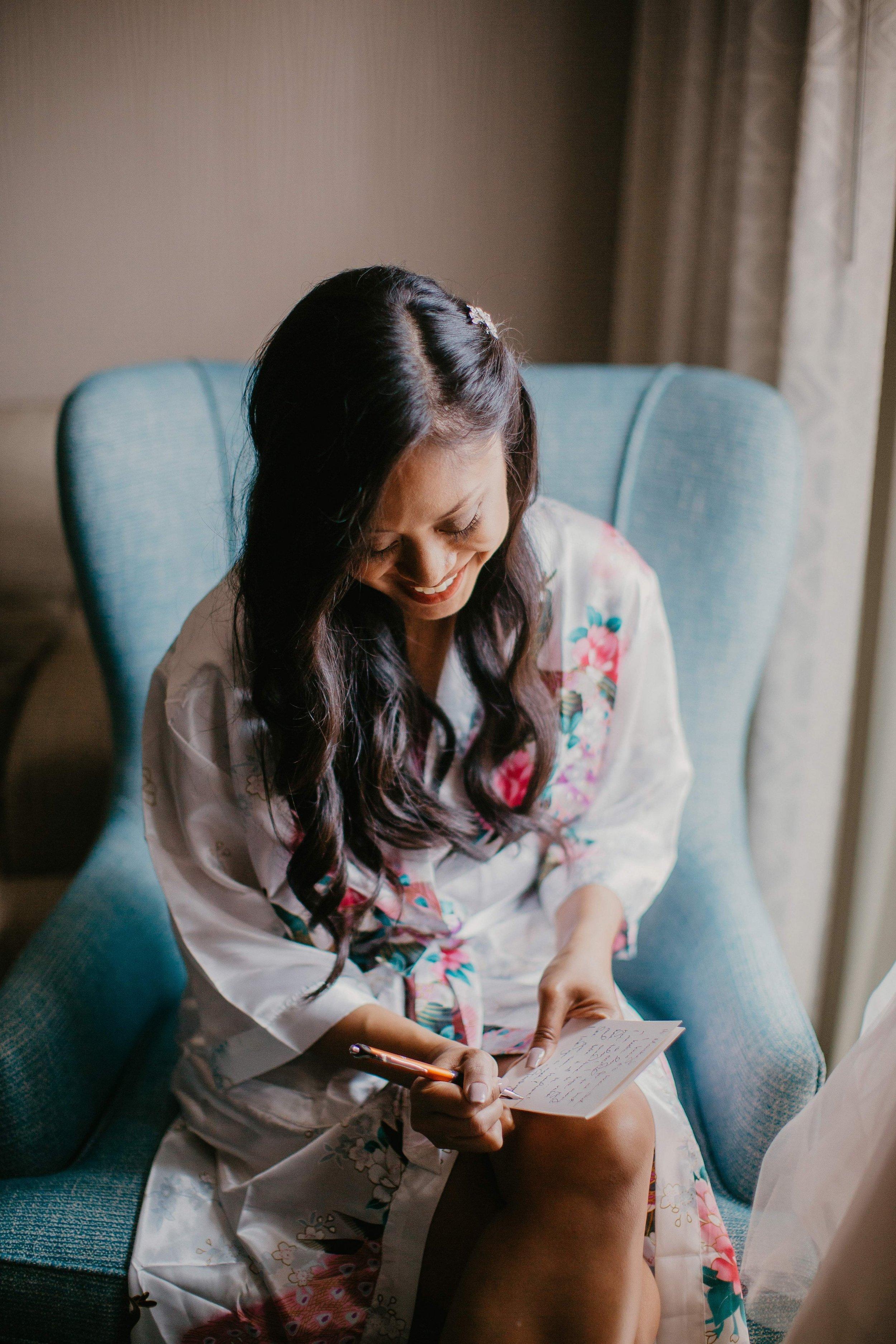 www.santabarbarawedding.com | Candice Marie Photography | Hilton Santa Barbara Beachfront Resort | Dalina Klan | Once in a Lifetime Weddings | Absolutely Fabulous Glamour | Bride Getting Ready