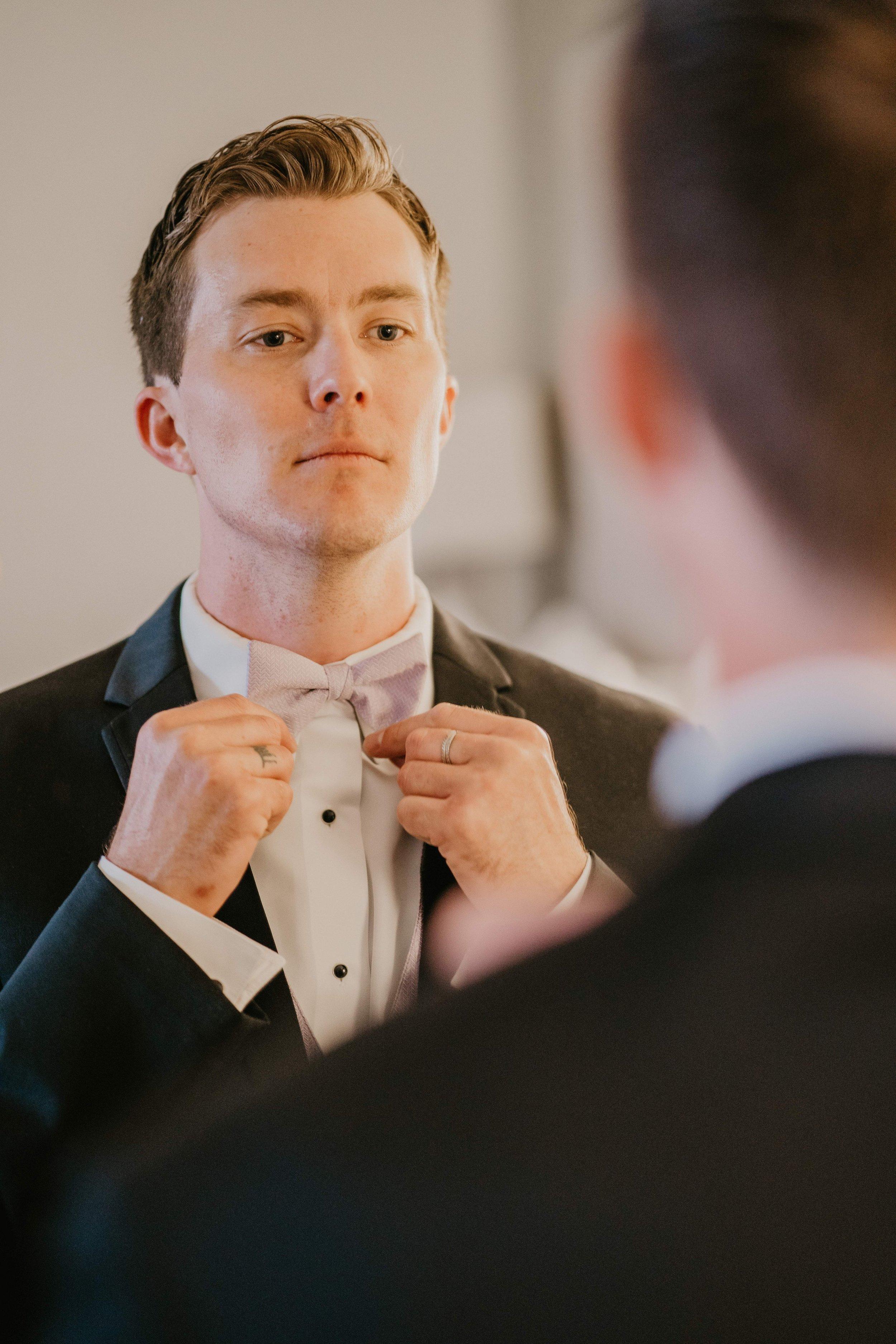 www.santabarbarawedding.com | Candice Marie Photography | Hilton Santa Barbara Beachfront Resort | Dalina Klan | Once in a Lifetime Weddings | Groom Getting Ready