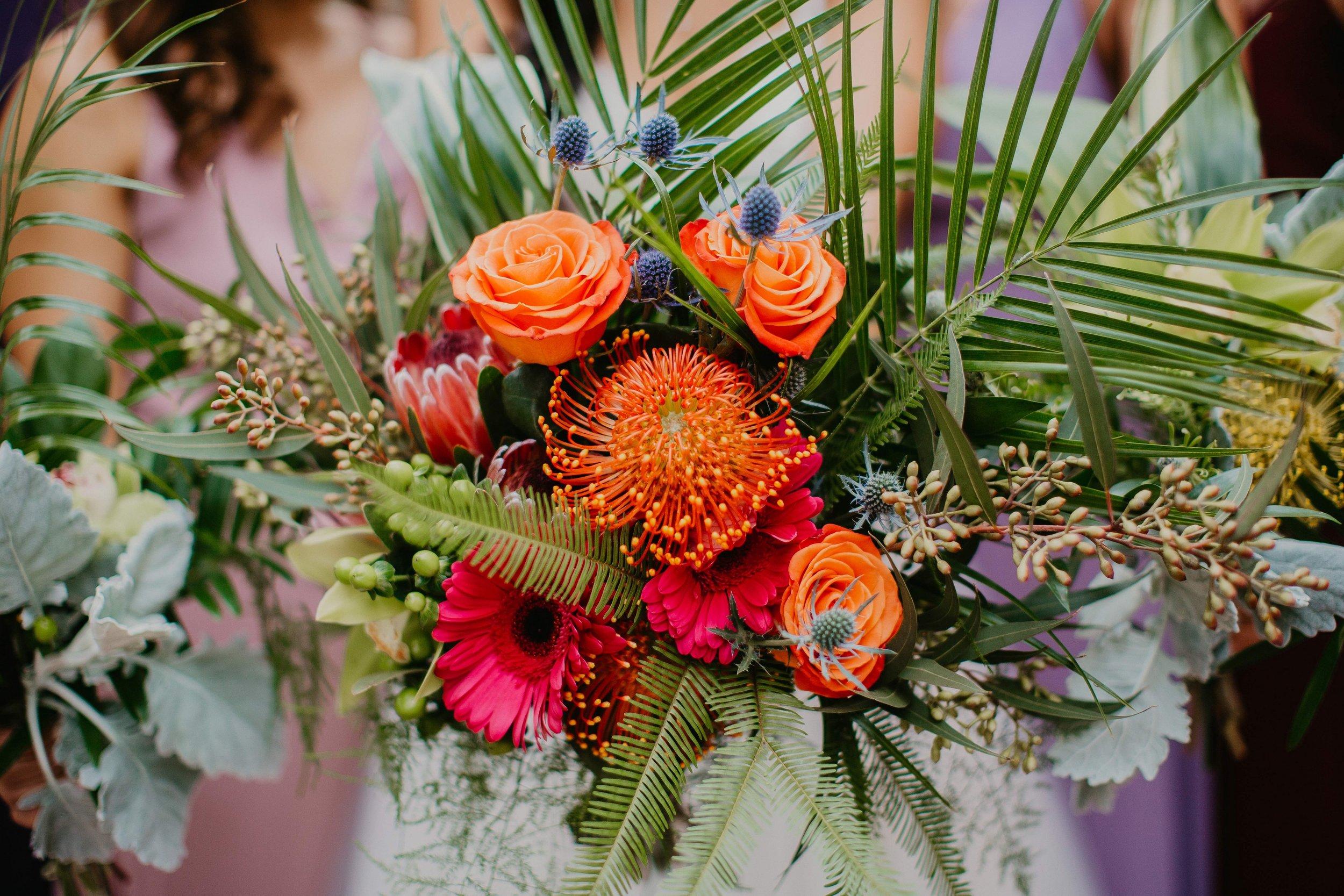 www.santabarbarawedding.com | Candice Marie Photography | Hilton Santa Barbara Beachfront Resort | Dalina Klan | Once in a Lifetime Weddings | Alpha Floral | Flower Bouquet