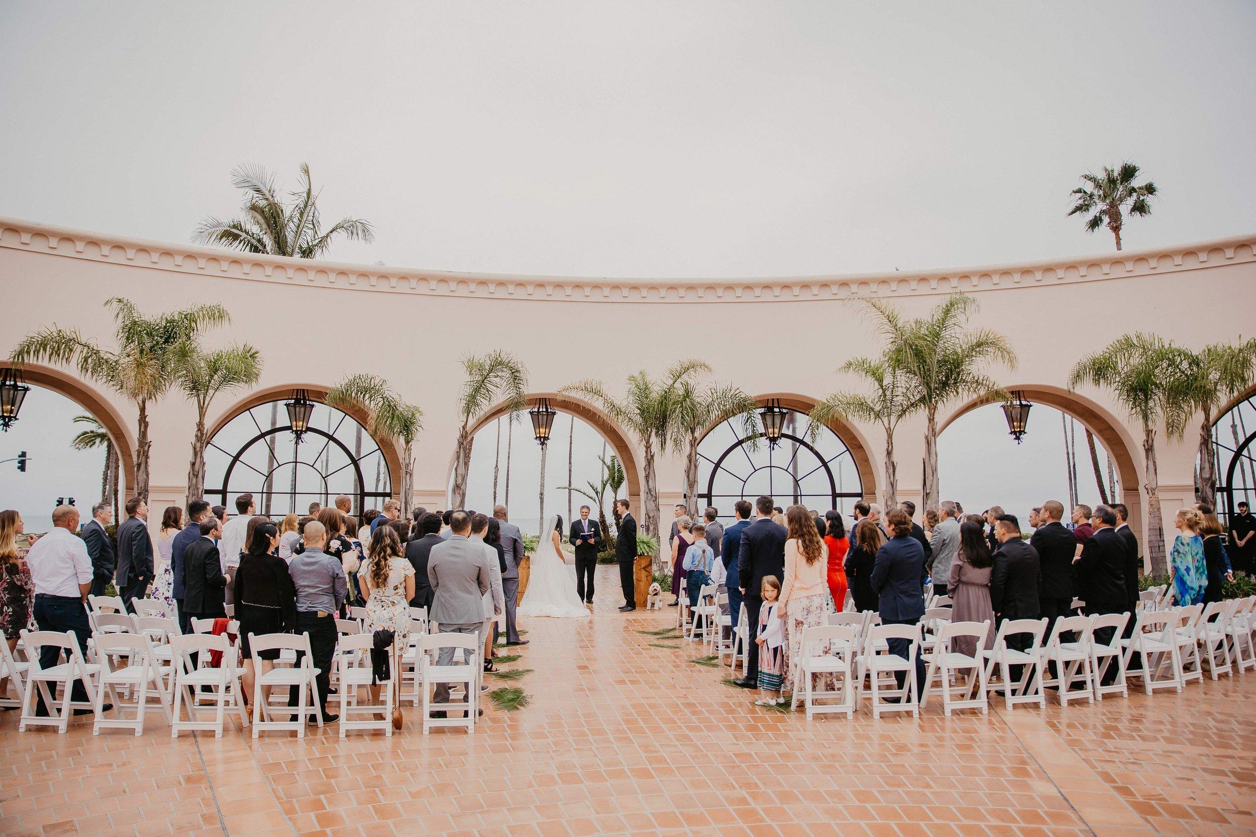 www.santabarbarawedding.com | Candice Marie Photography | Hilton Santa Barbara Beachfront Resort | Dalina Klan | Once in a Lifetime Weddings | Anthony Francisco | John Palminteri | The Ceremony