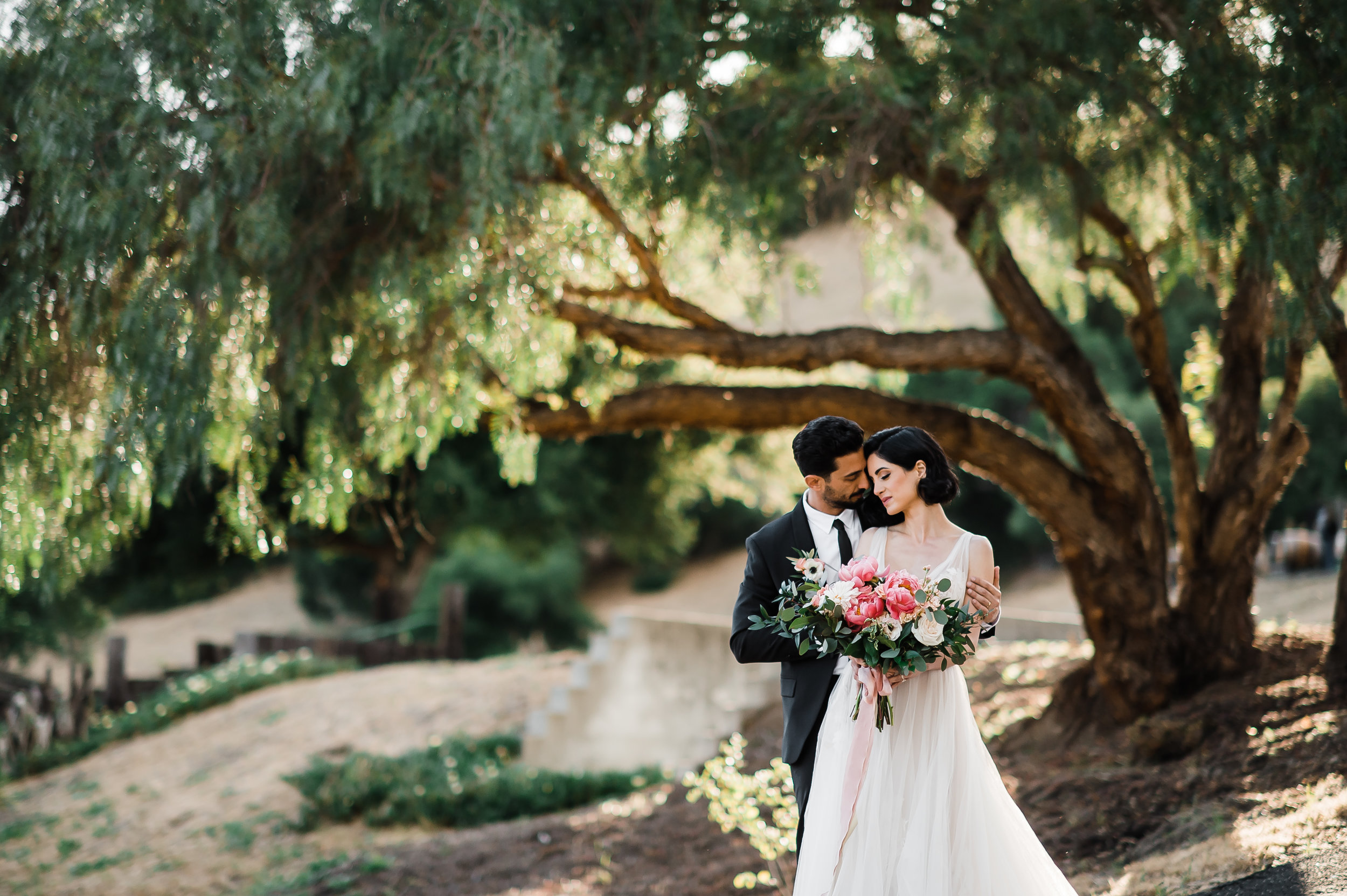 www.santabarbarawedding.com | Michelle Ramirez Photography | Zaca Creek | Wünderland Co. | Tangled Lotus | BHLDN | Sarah Naja | Julie Christy Lash+Makeup | Zara | Amad Ebrahimi | Bride and groom
