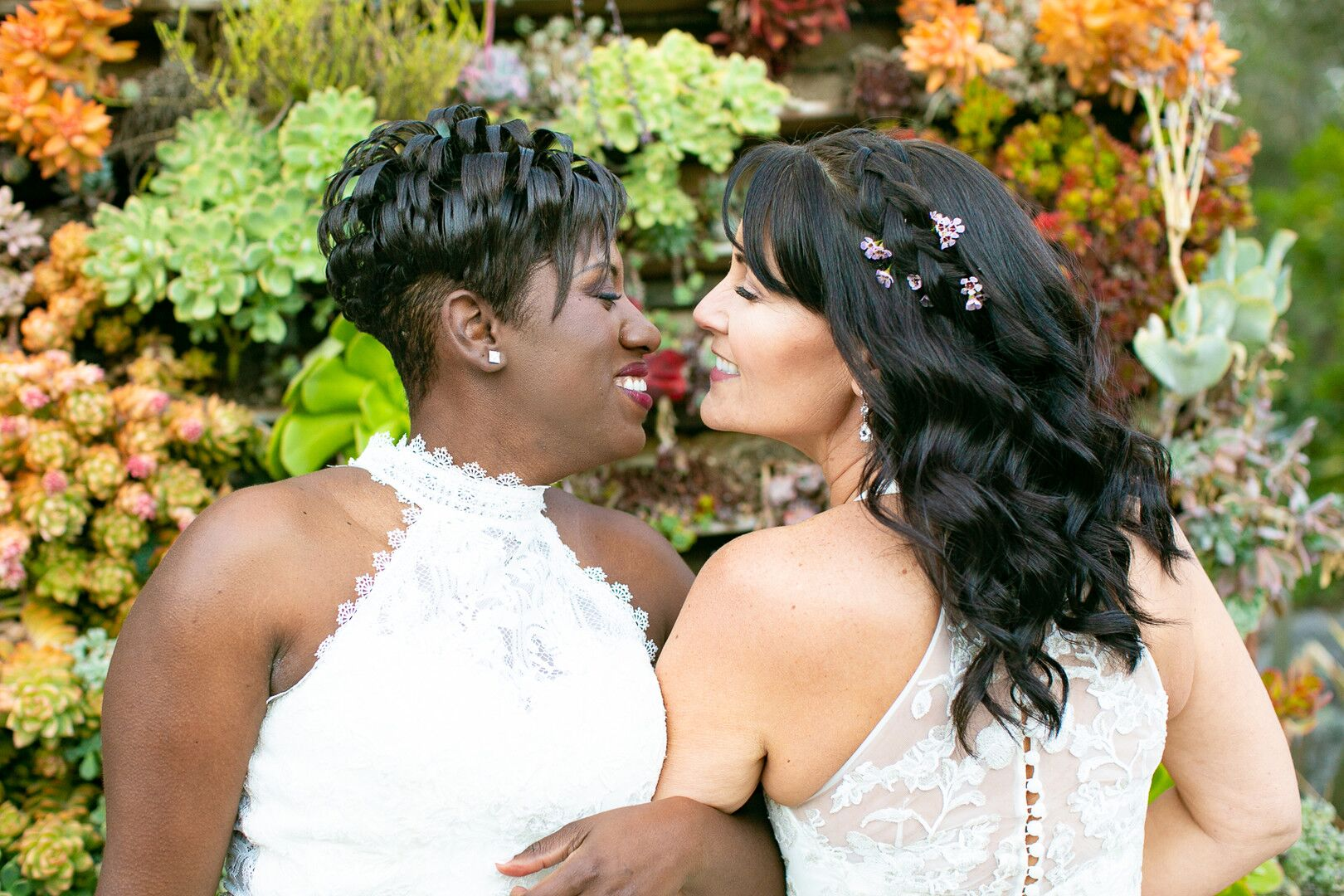 www.santabarbarawedding.com | Venue: The Casitas of Arroyo Grande | Photographer: Renoda Campbell Photography | Second Shooter: John Patrick Images |  Brides Loving Look