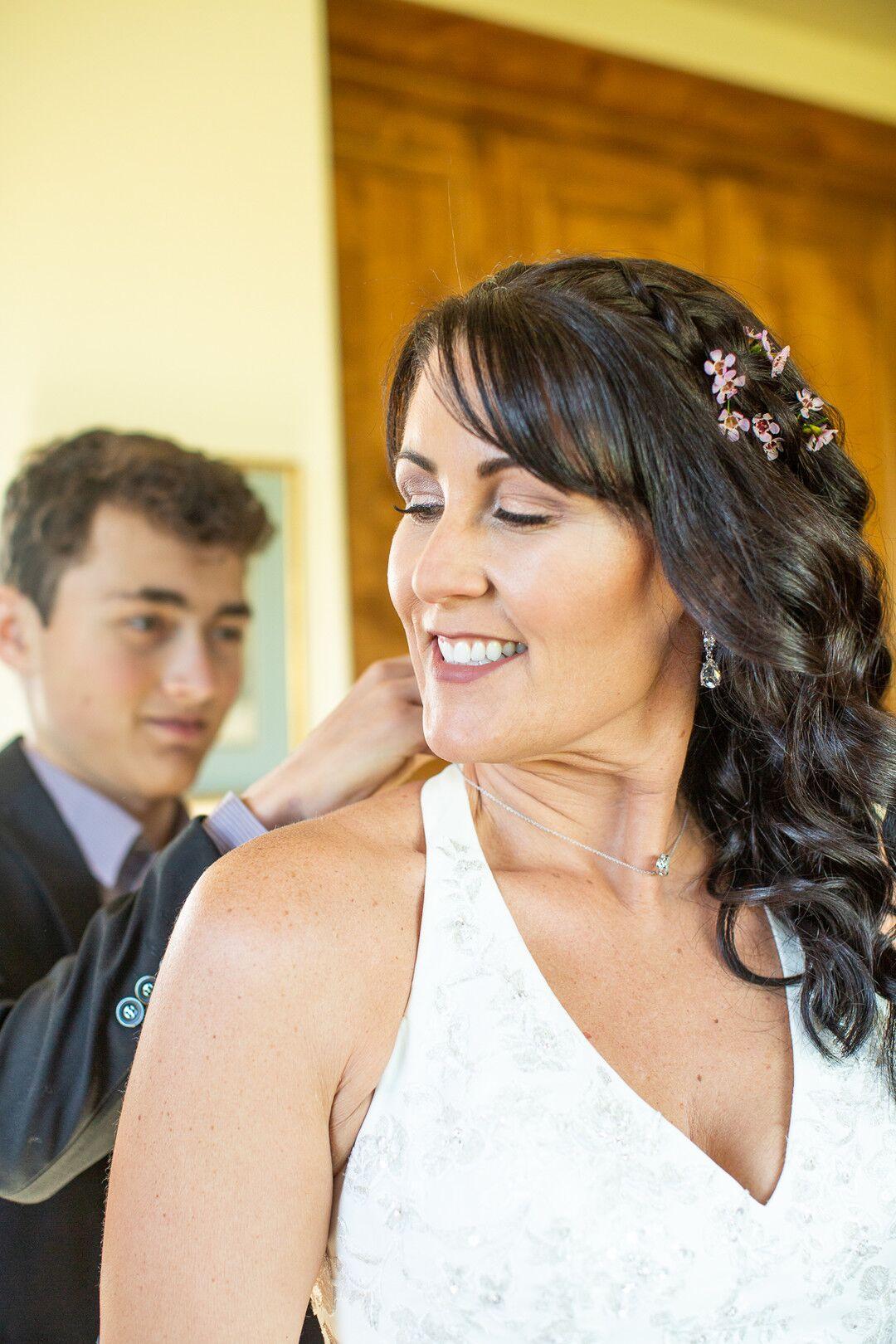 www.santabarbarawedding.com | Venue: The Casitas of Arroyo Grande | Photographer: Renoda Campbell Photography | Second Shooter: John Patrick Images |  Bride Before Wedding