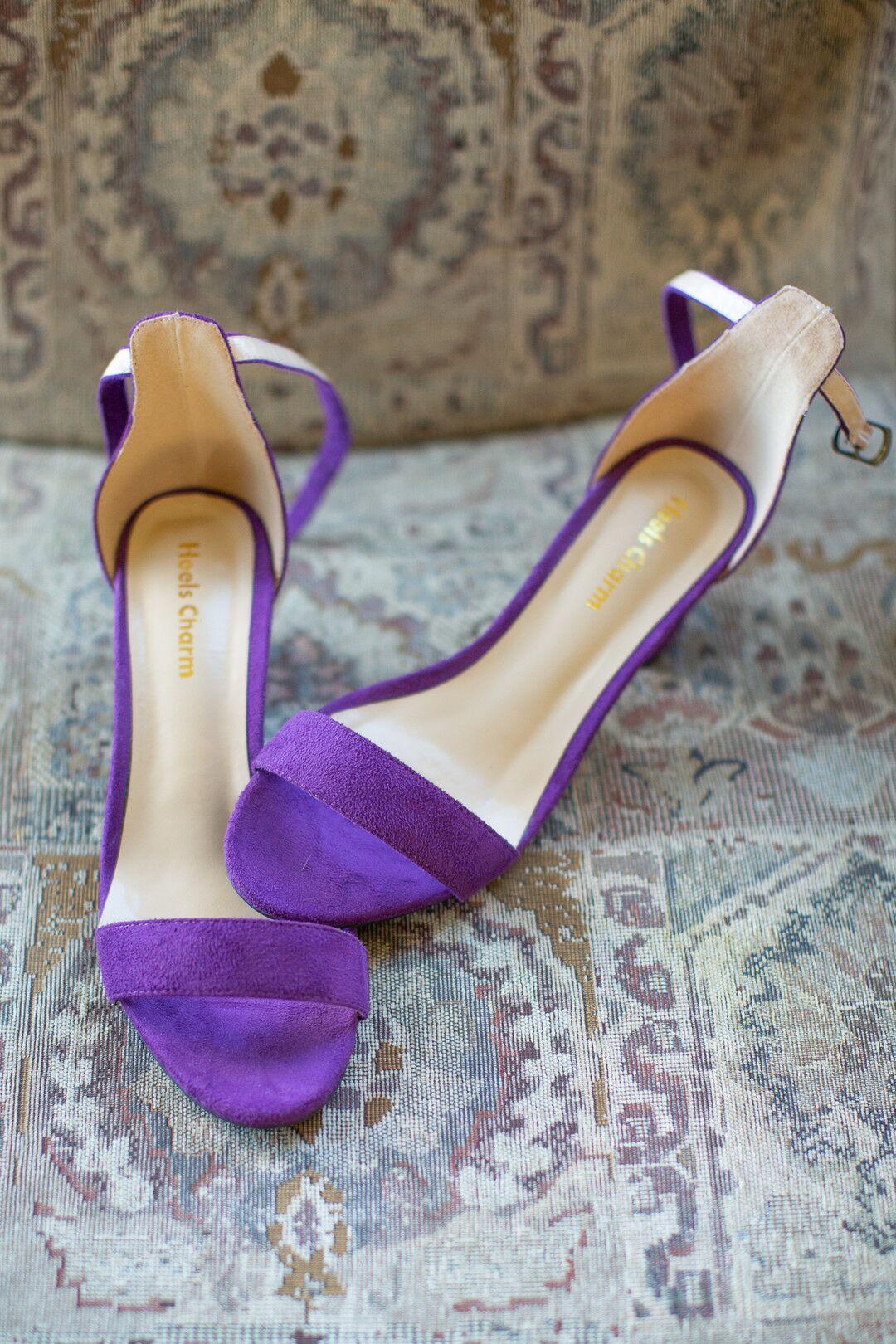 www.santabarbarawedding.com | Venue: The Casitas of Arroyo Grande | Photographer: Renoda Campbell Photography | Second Shooter: John Patrick Images |  Purple Bridal Shoes