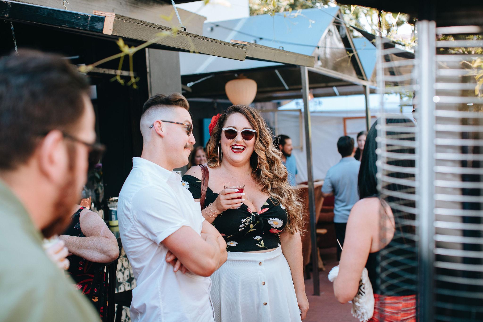 www.santabarbarawedding.com   Zach Mendez   The Glass House   Fiesta Kickoff   Guests