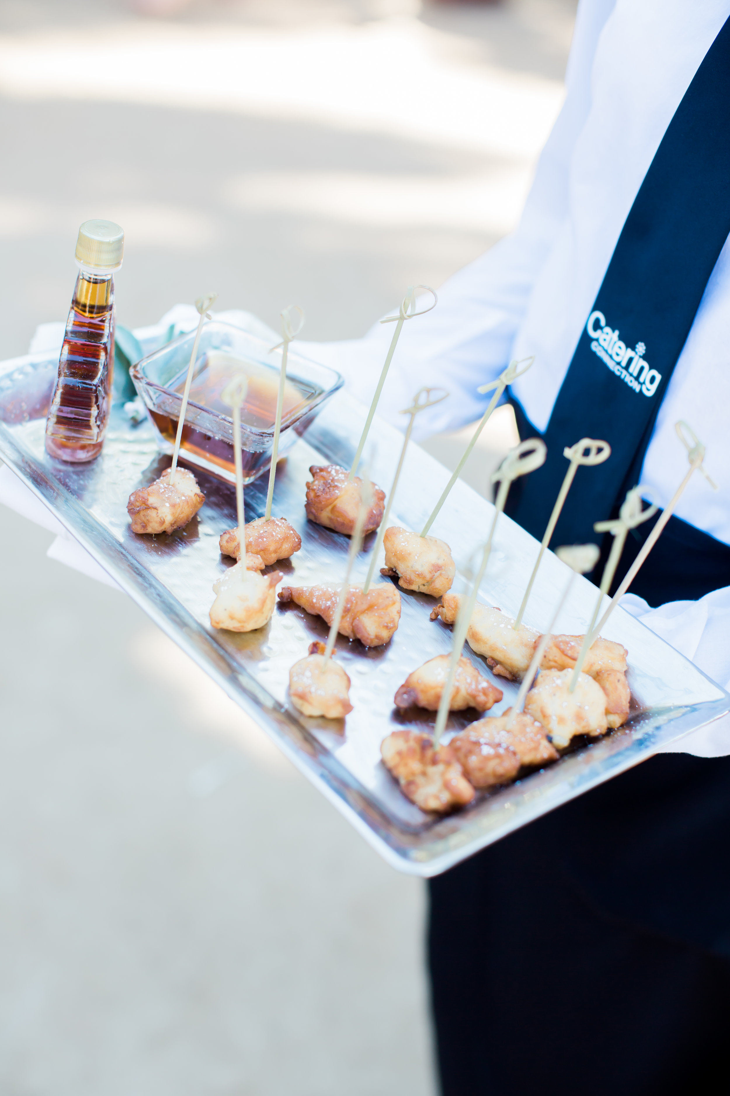 www.santabarbarawedding.com | James and Jess Photography | Santa Barbara Historical | Amazing Day Events | Catering Connection | Hors D'hoeuvres with Syrup