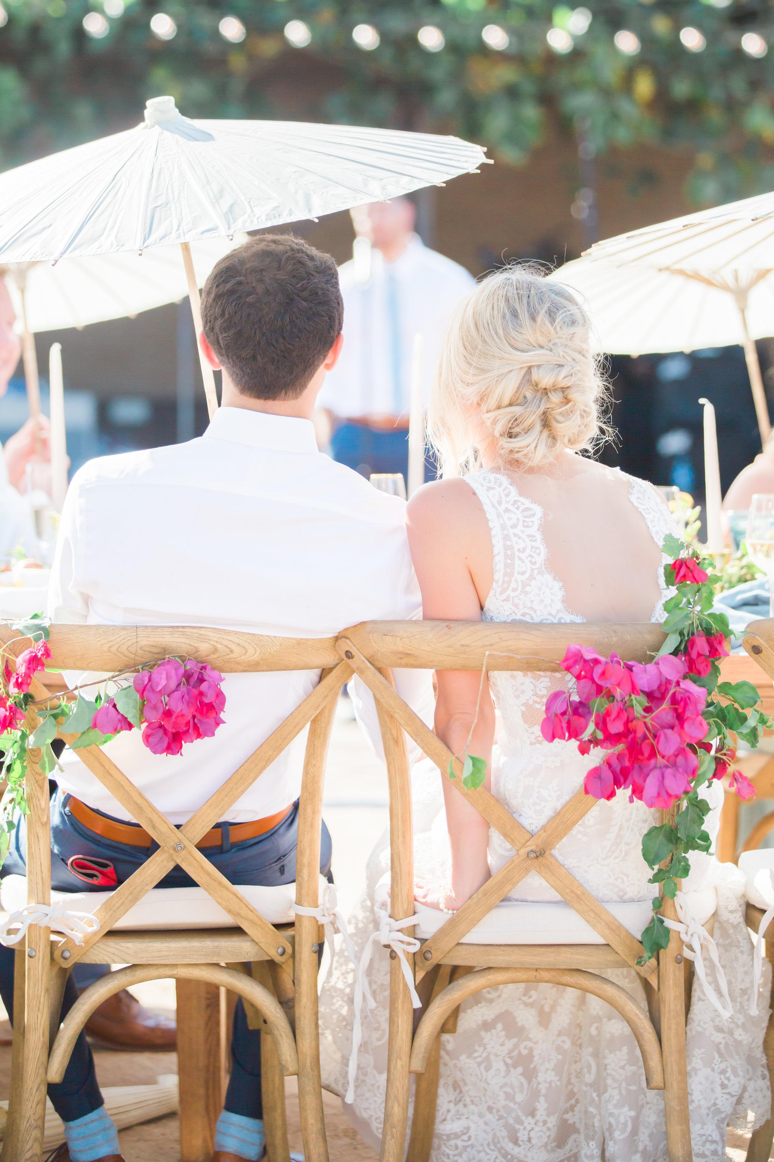 www.santabarbarawedding.com | James and Jess Photography | Santa Barbara Historical | Amazing Day Events | Classic Party Rentals | La Tavola | La Fleur du Jour | Couple at the Reception