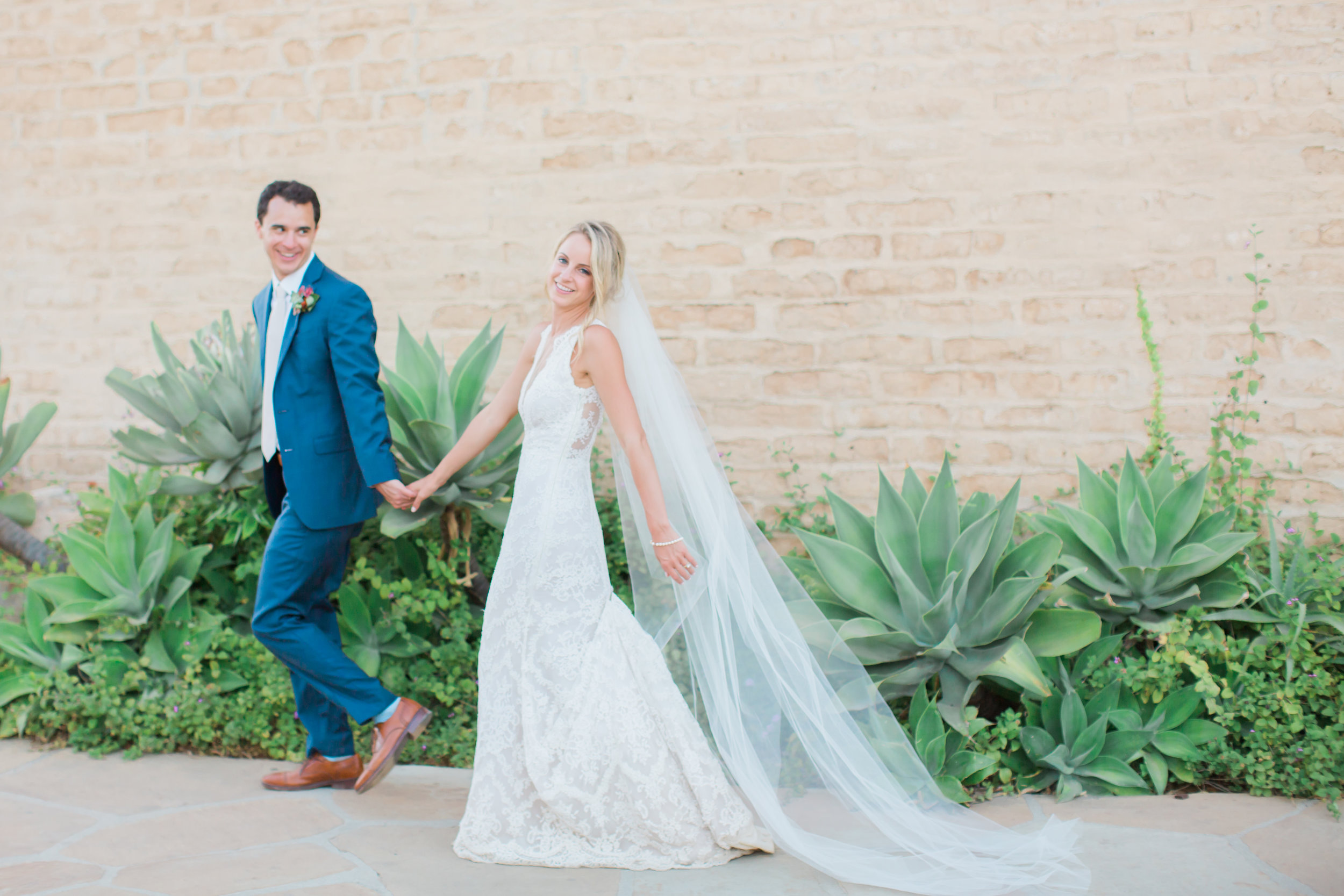 www.santabarbarawedding.com | James and Jess Photography | Santa Barbara Historical | Amazing Day Events | La Fleur du Jour | TEAM Hair & Makeup | Double Take | Bride and Groom After Ceremony